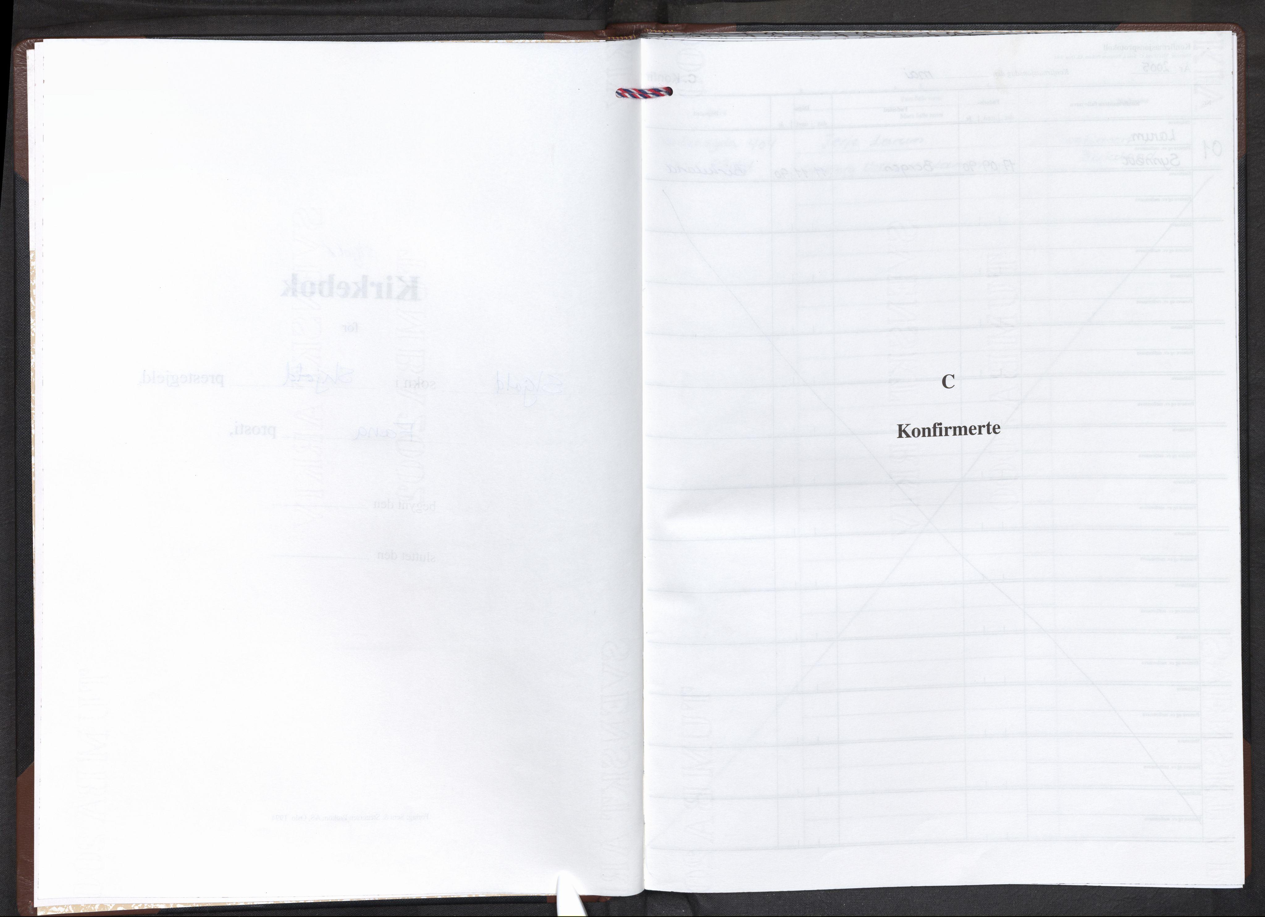 SAB, Nordås sokneprestembete, Parish register (official) no. B 2, 2005-2010