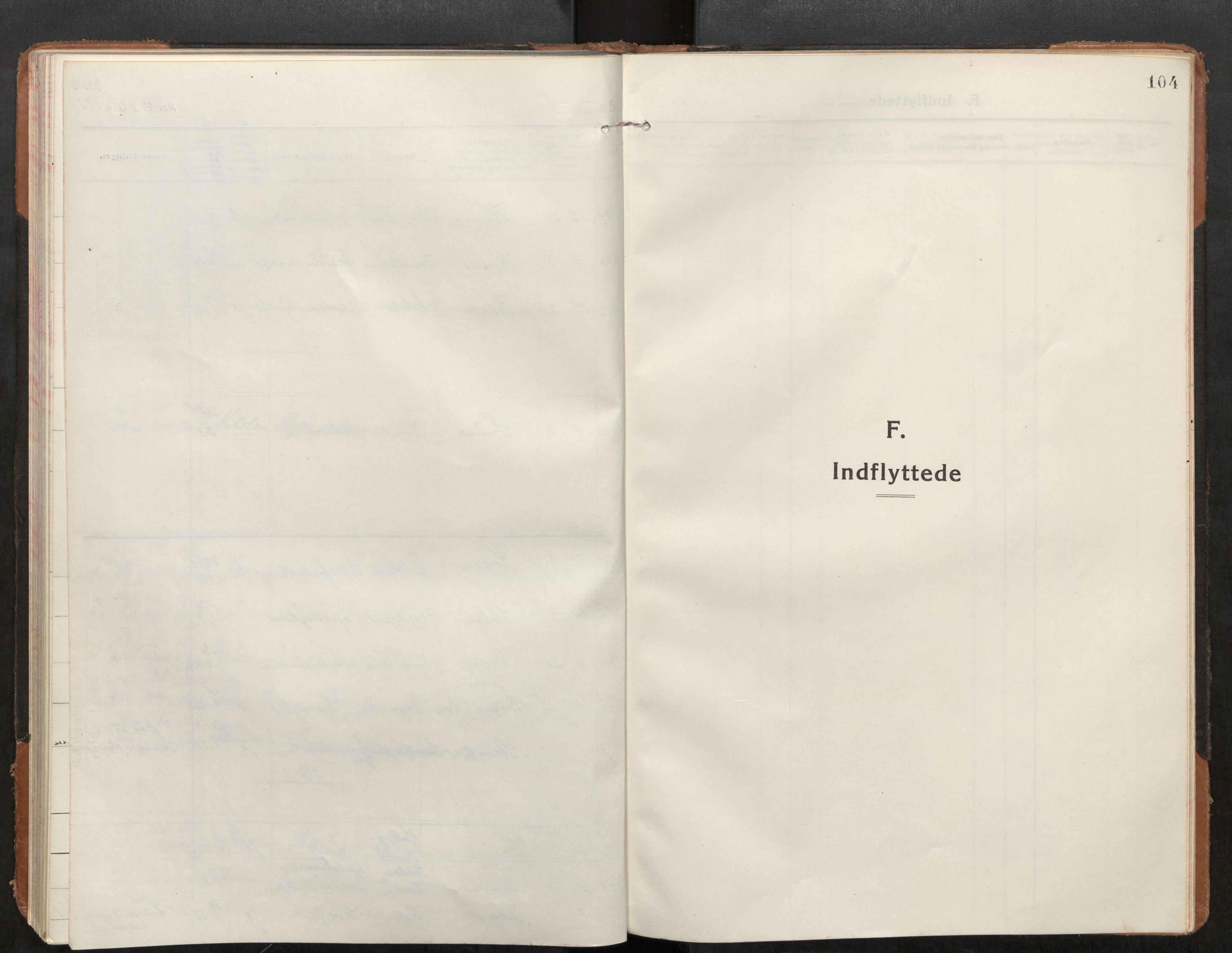 SAT, Stod sokneprestkontor, I/I1/I1a/L0004: Parish register (official) no. 4, 1913-1933, p. 104