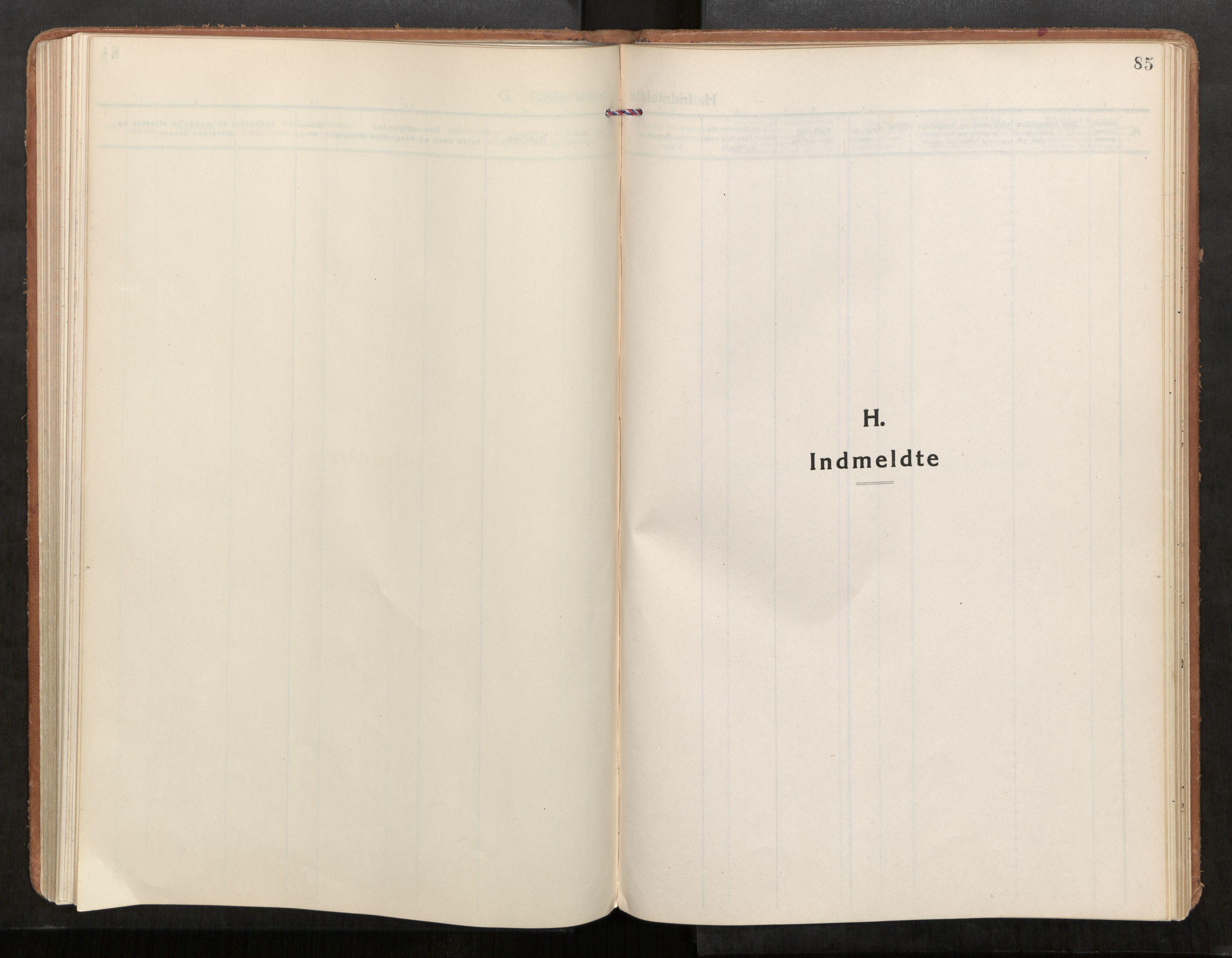 SAT, Stod sokneprestkontor, I/I1/I1a/L0005: Parish register (official) no. 5, 1923-1932, p. 85