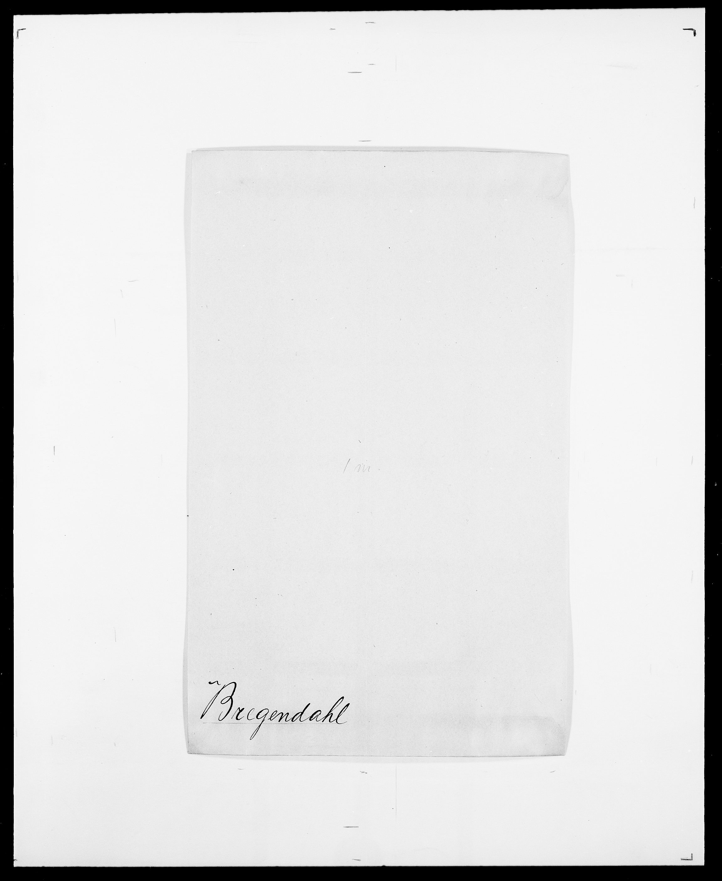 SAO, Delgobe, Charles Antoine - samling, D/Da/L0006: Brambani - Brønø, s. 274