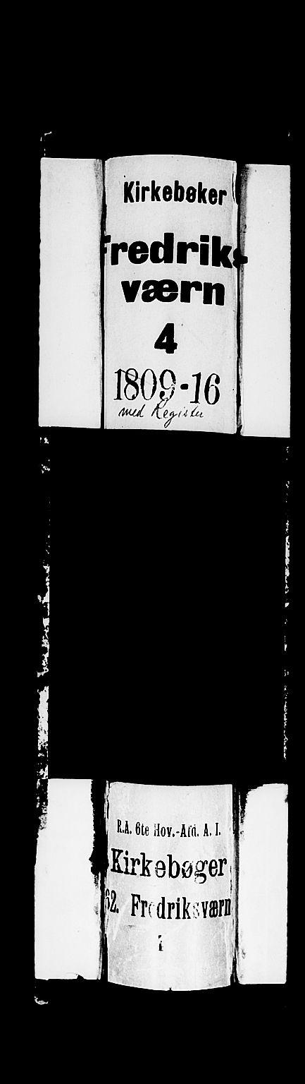 SAKO, Stavern kirkebøker, F/Fa/L0004: Ministerialbok nr. 4, 1809-1816