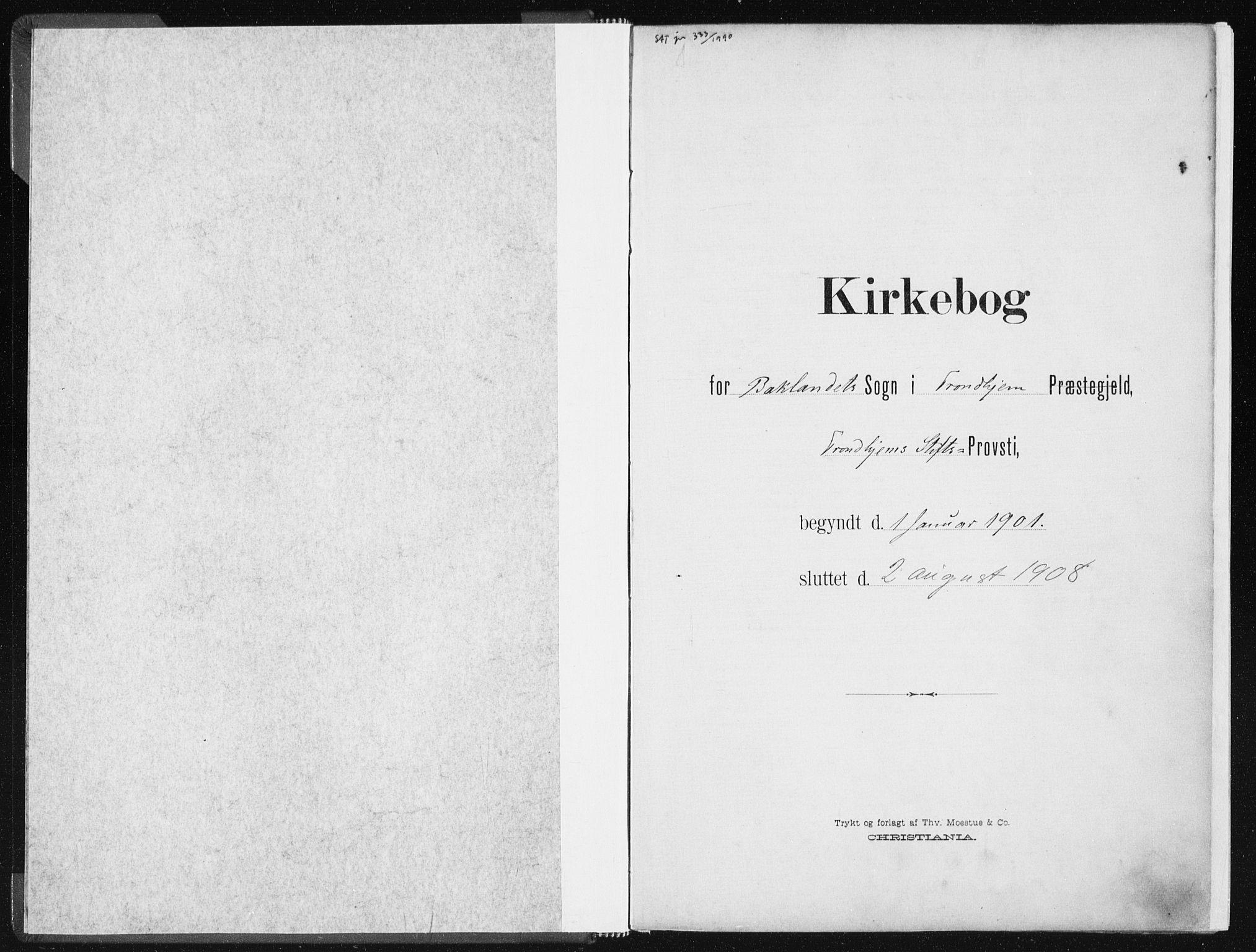 SAT, Ministerialprotokoller, klokkerbøker og fødselsregistre - Sør-Trøndelag, 604/L0199: Ministerialbok nr. 604A20I, 1901-1906
