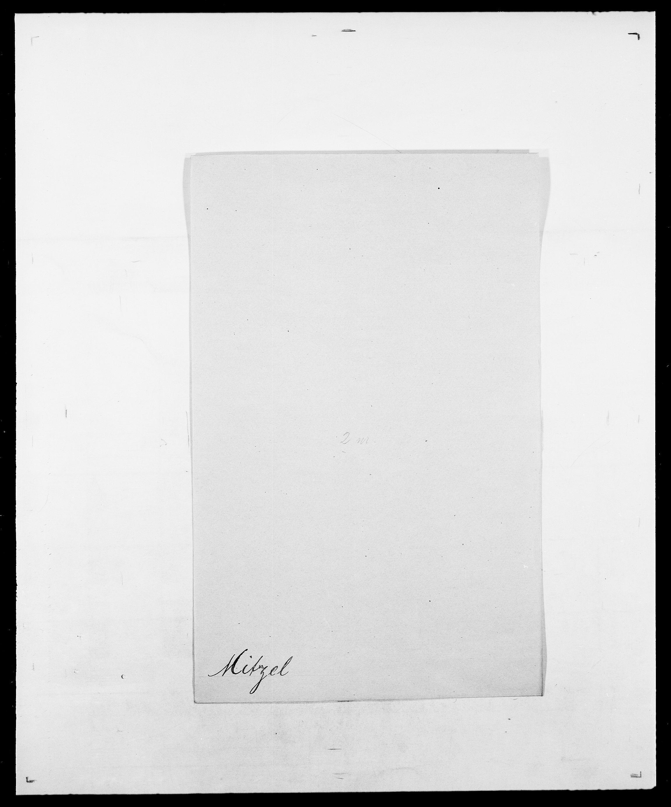 SAO, Delgobe, Charles Antoine - samling, D/Da/L0026: Mechelby - Montoppidan, s. 601