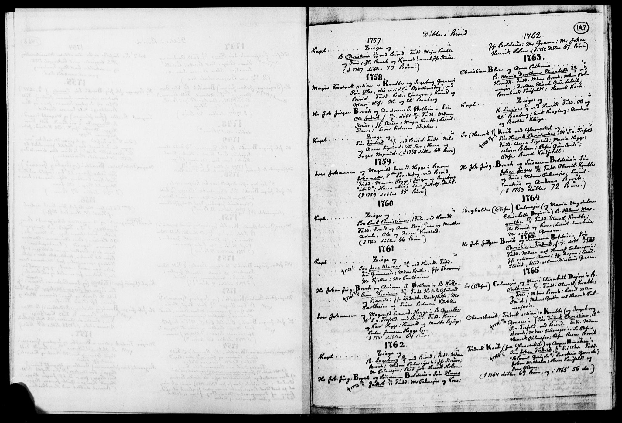 SAH, Biri prestekontor, Ministerialbok, 1730-1879, s. 147