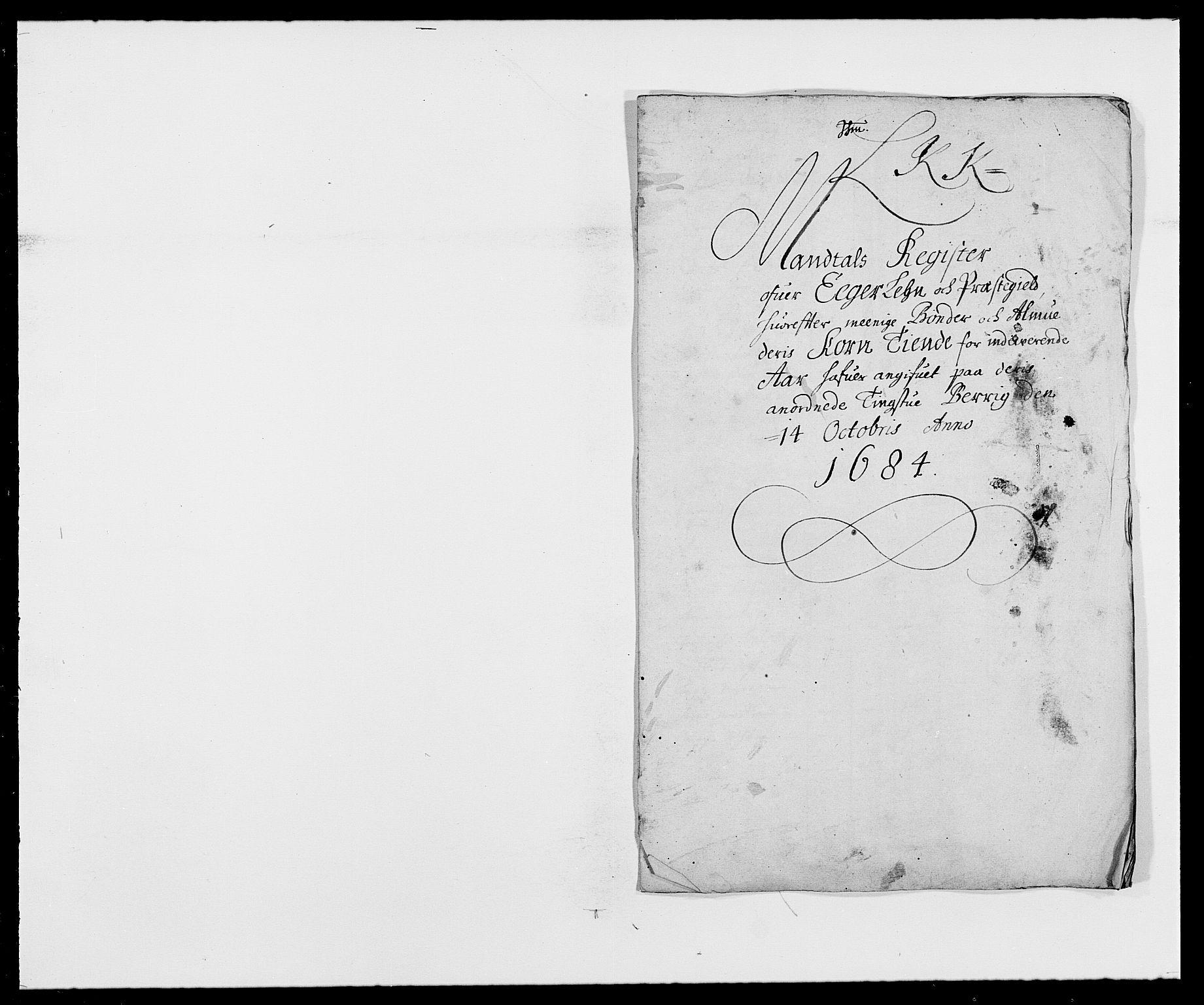RA, Rentekammeret inntil 1814, Reviderte regnskaper, Fogderegnskap, R26/L1685: Fogderegnskap Eiker, 1679-1686, s. 1