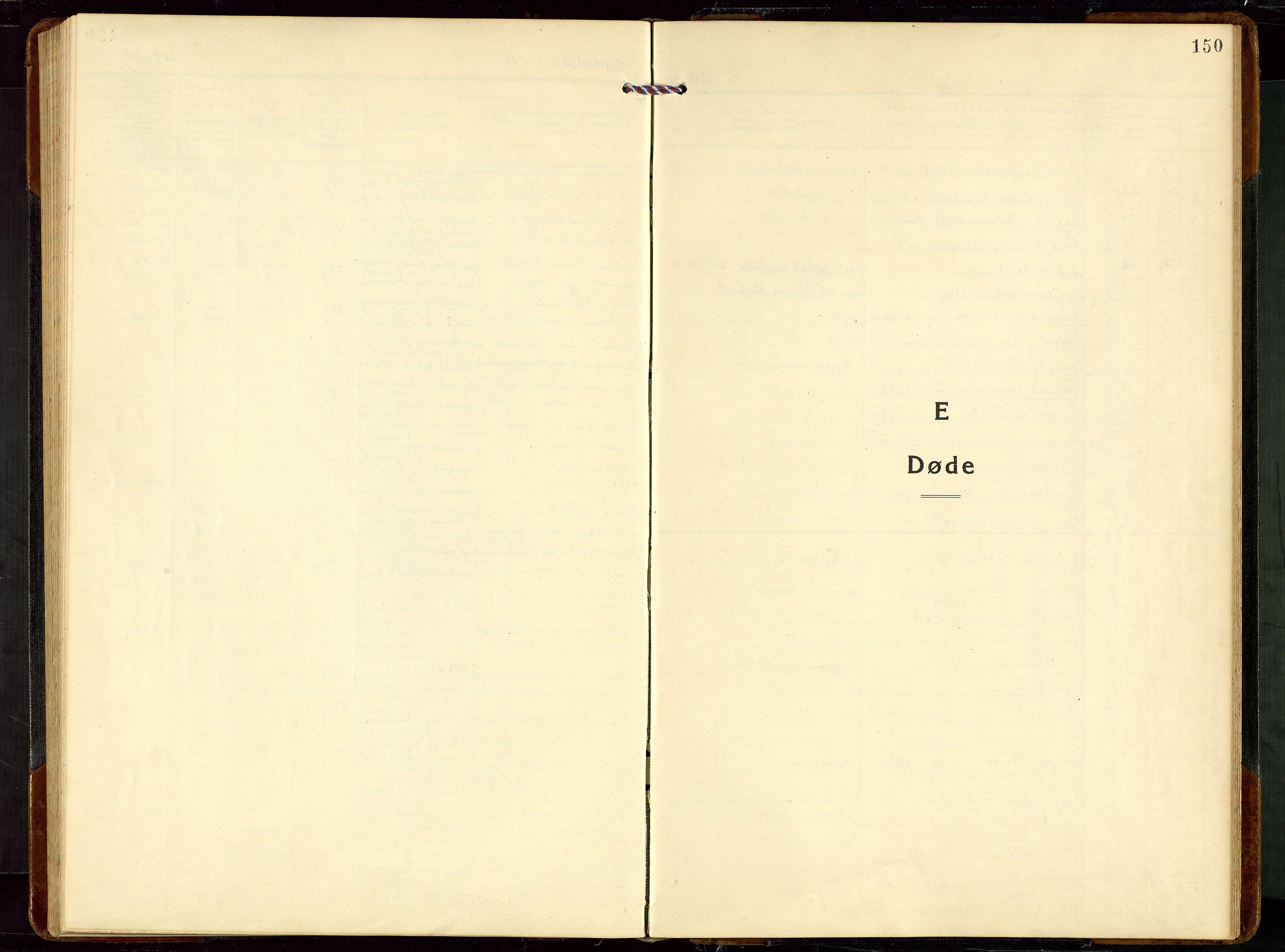 SAST, Egersund sokneprestkontor, Klokkerbok nr. B 14, 1931-1949, s. 150