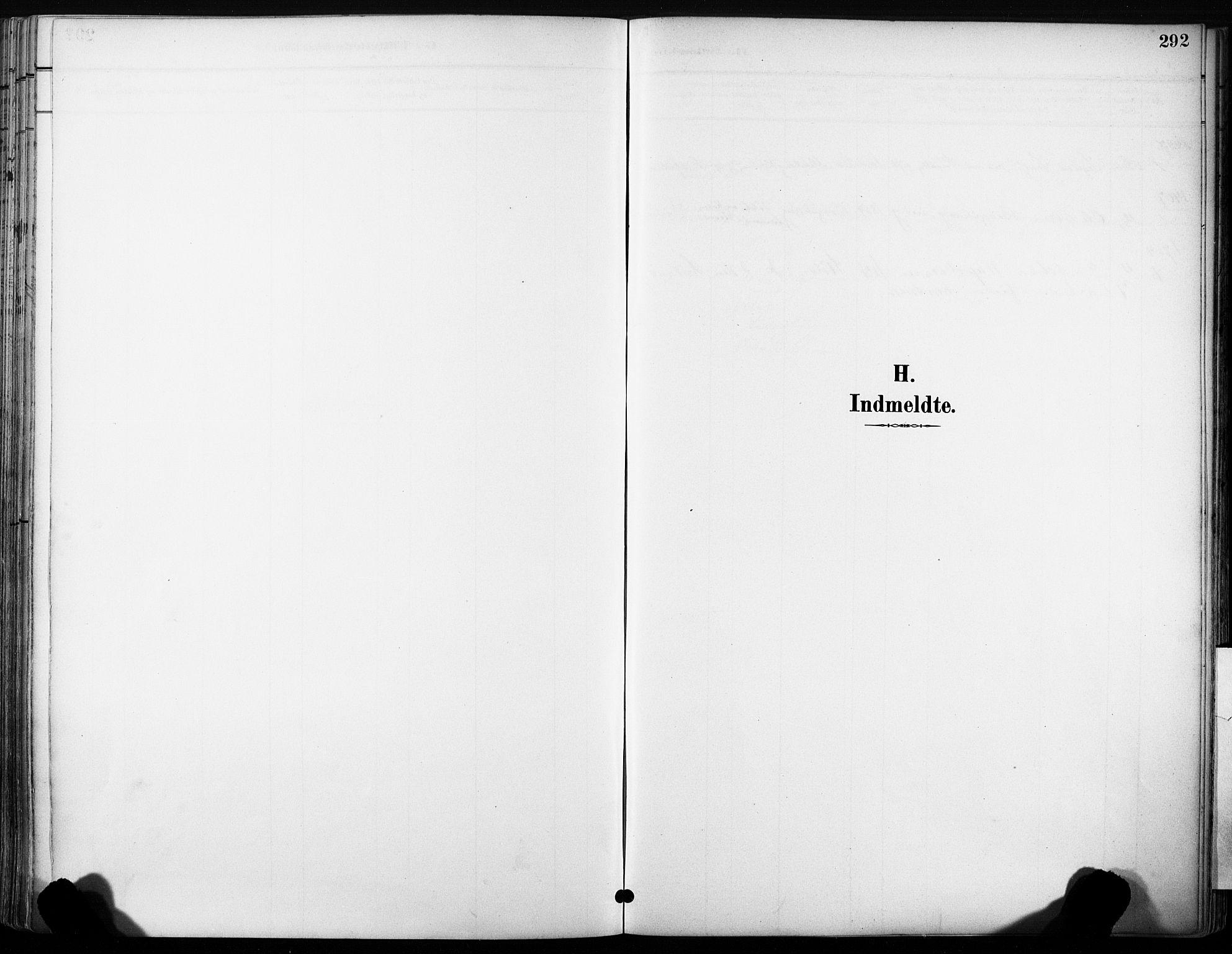 SAT, Ministerialprotokoller, klokkerbøker og fødselsregistre - Sør-Trøndelag, 630/L0497: Ministerialbok nr. 630A10, 1896-1910, s. 292