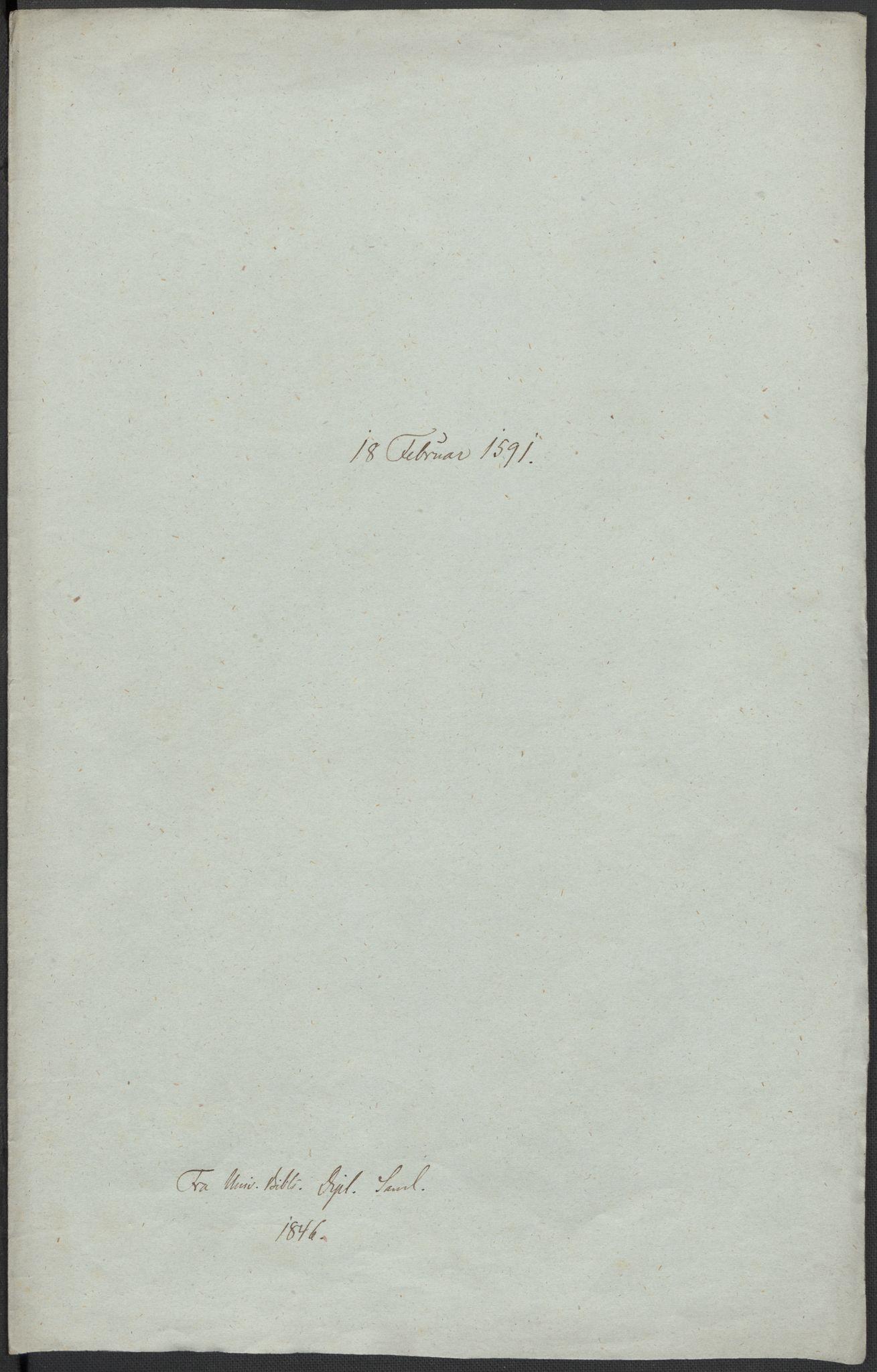 RA, Riksarkivets diplomsamling, F02/L0093: Dokumenter, 1591, s. 29