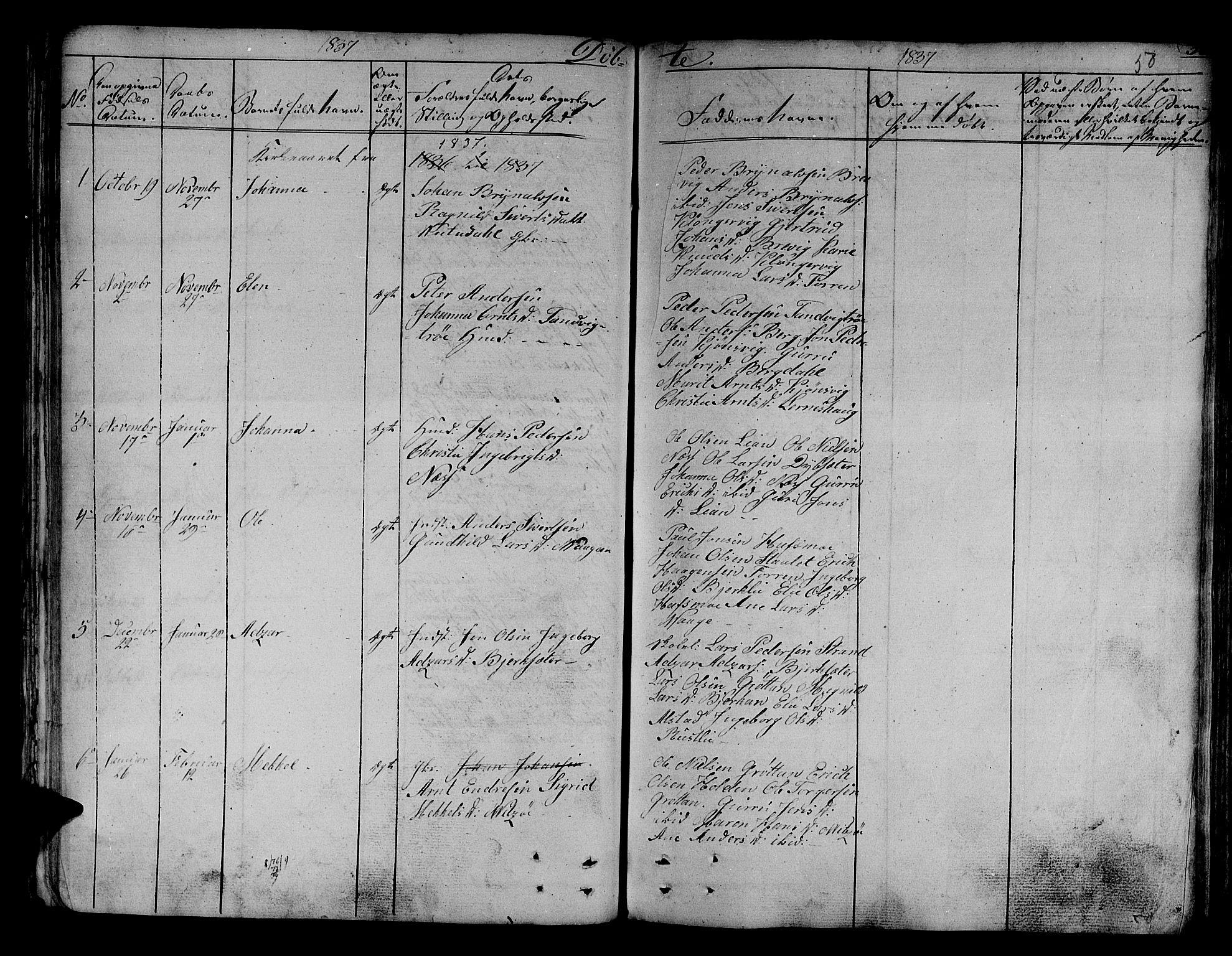 SAT, Ministerialprotokoller, klokkerbøker og fødselsregistre - Sør-Trøndelag, 630/L0492: Ministerialbok nr. 630A05, 1830-1840, s. 50