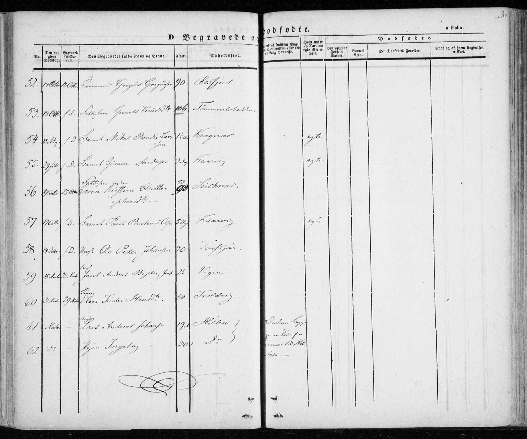 SATØ, Lenvik sokneprestembete, H/Ha: Ministerialbok nr. 6, 1845-1854, s. 280