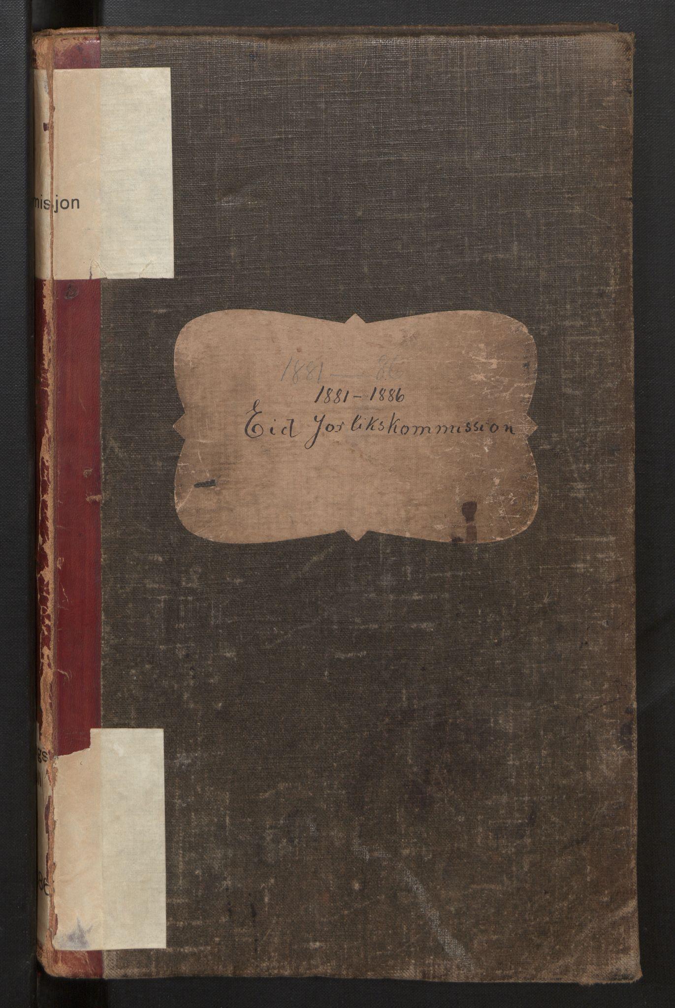 SAB, Eid (og Davik) forliksråd, A/L0006: Forhandlingsprotokoll, 1881-1886