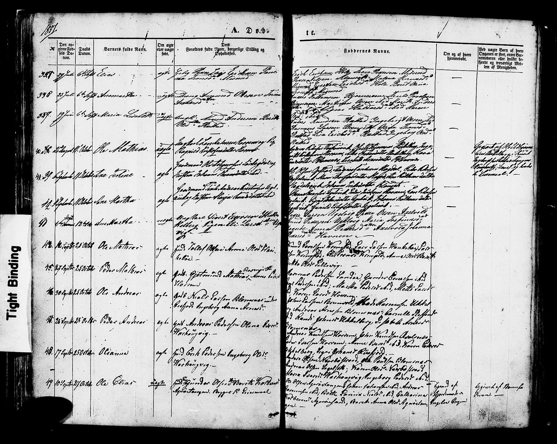 SAT, Ministerialprotokoller, klokkerbøker og fødselsregistre - Møre og Romsdal, 560/L0719: Ministerialbok nr. 560A03, 1845-1872, s. 37