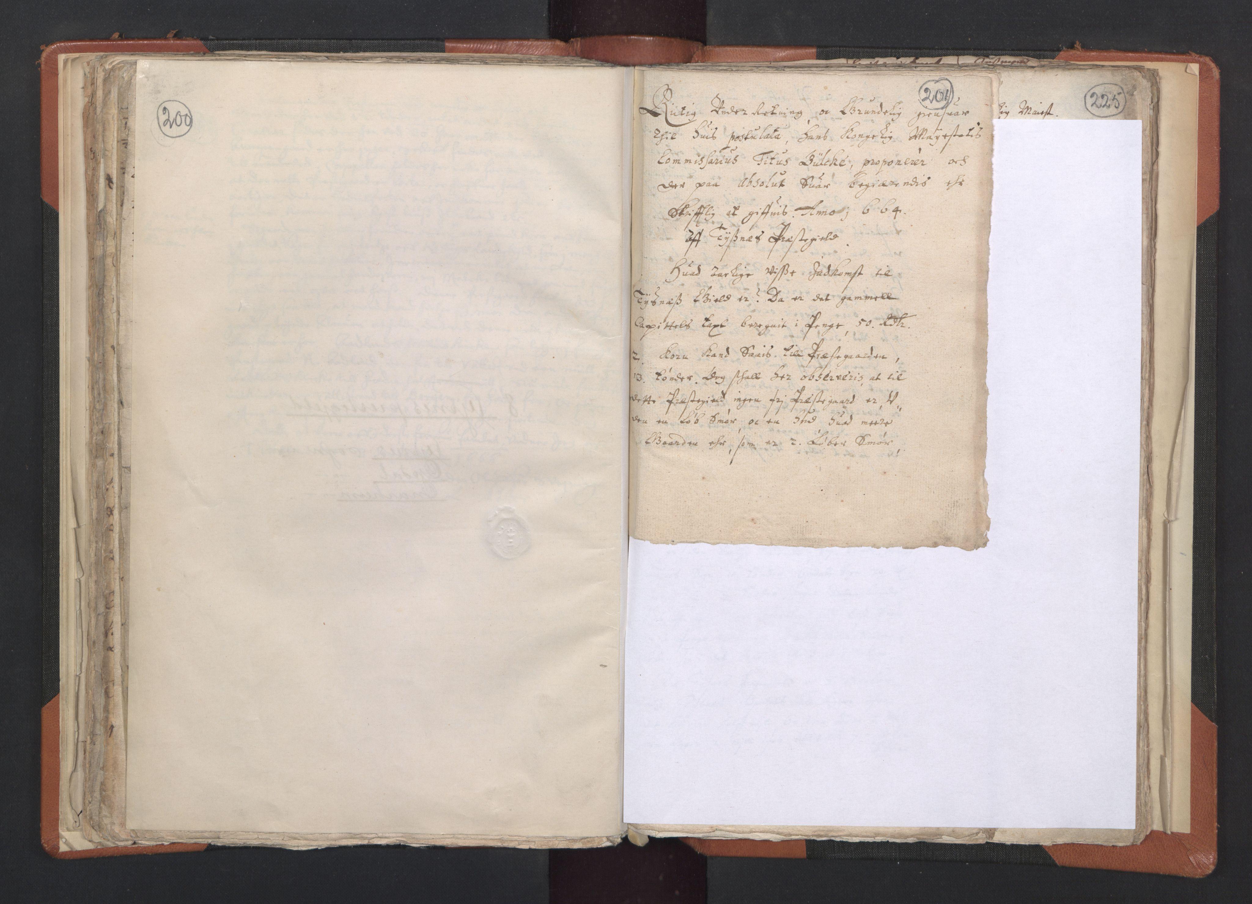 RA, Sogneprestenes manntall 1664-1666, nr. 20: Sunnhordland prosti, 1664-1666, s. 200-201