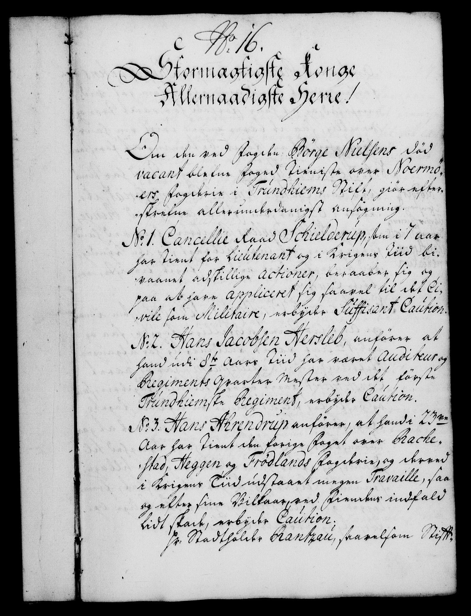 RA, Rentekammeret, Kammerkanselliet, G/Gf/Gfa/L0017: Norsk relasjons- og resolusjonsprotokoll (merket RK 52.17), 1734, s. 93