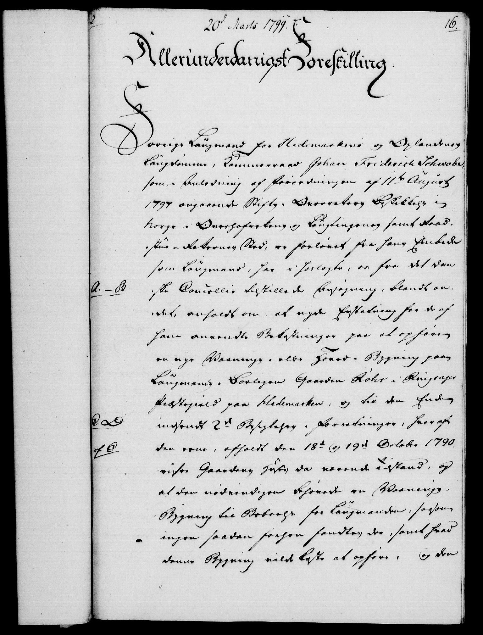 RA, Rentekammeret, Kammerkanselliet, G/Gf/Gfa/L0081: Norsk relasjons- og resolusjonsprotokoll (merket RK 52.81), 1799, s. 113