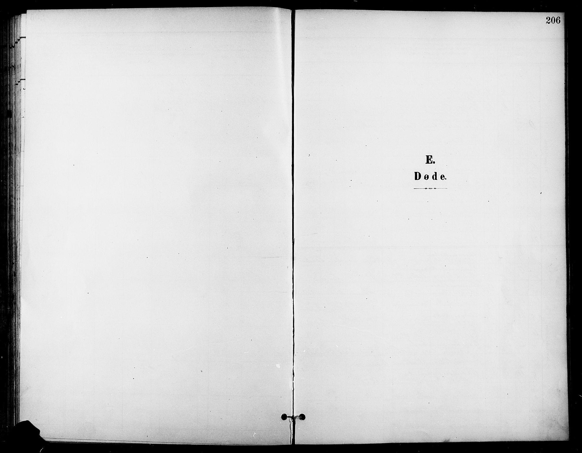 SAH, Gran prestekontor, Ministerialbok nr. 19, 1898-1907, s. 206