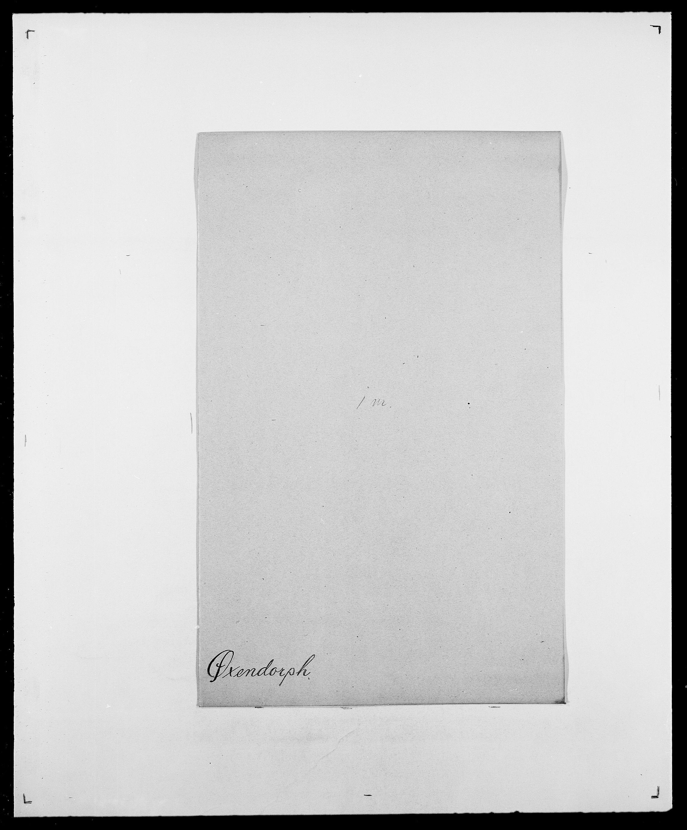SAO, Delgobe, Charles Antoine - samling, D/Da/L0043: Wulfsberg - v. Zanten, s. 420