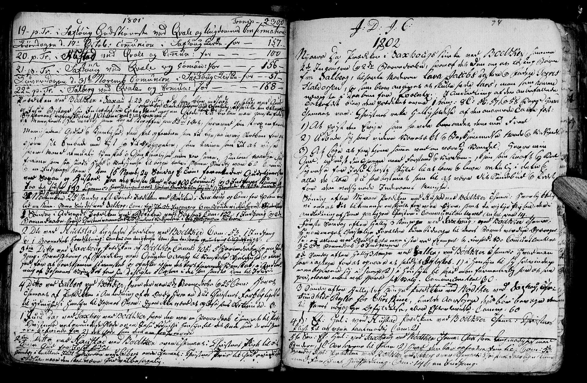 SAT, Ministerialprotokoller, klokkerbøker og fødselsregistre - Nord-Trøndelag, 730/L0273: Ministerialbok nr. 730A02, 1762-1802, s. 74