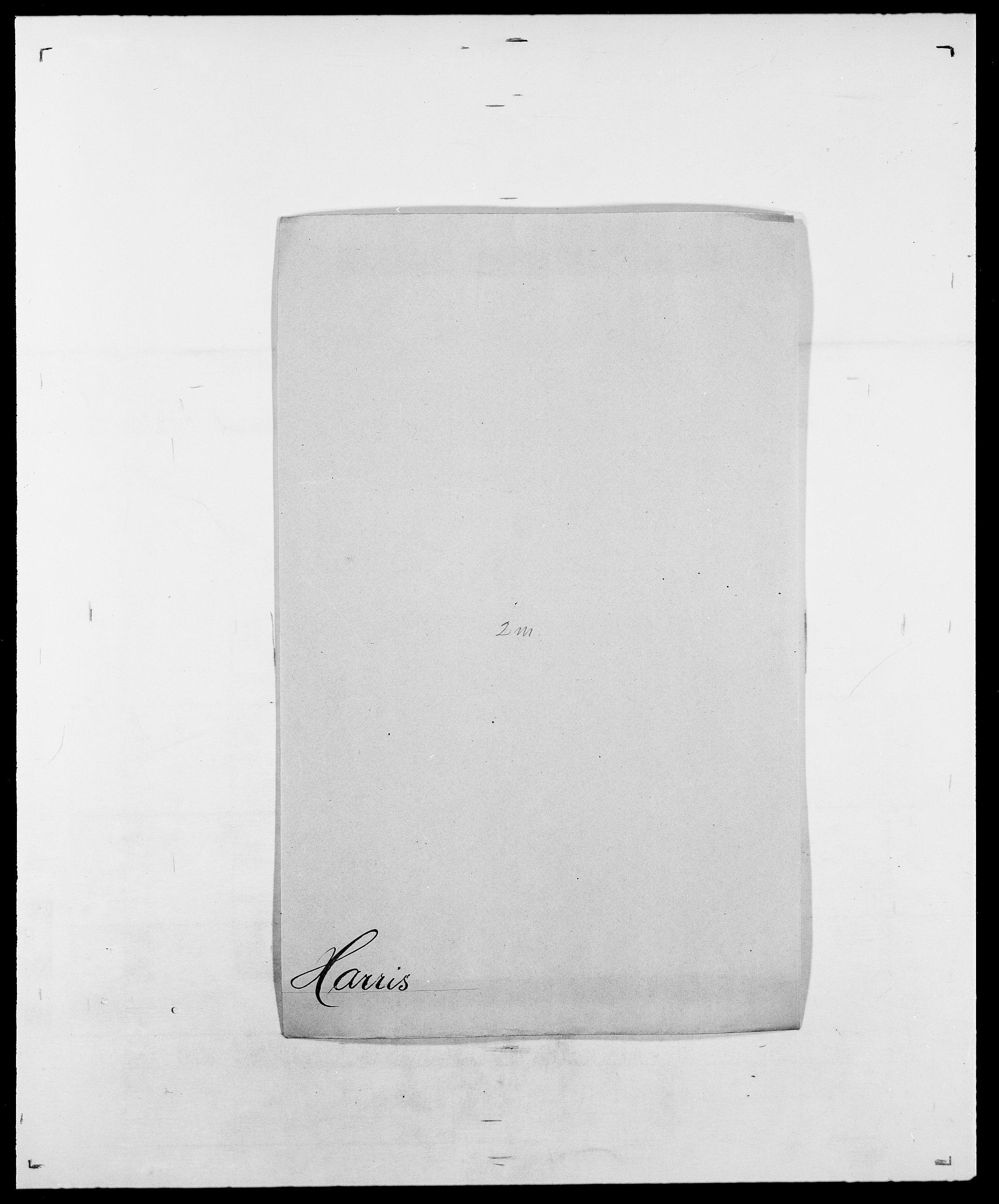 SAO, Delgobe, Charles Antoine - samling, D/Da/L0016: Hamborg - Hektoen, s. 449
