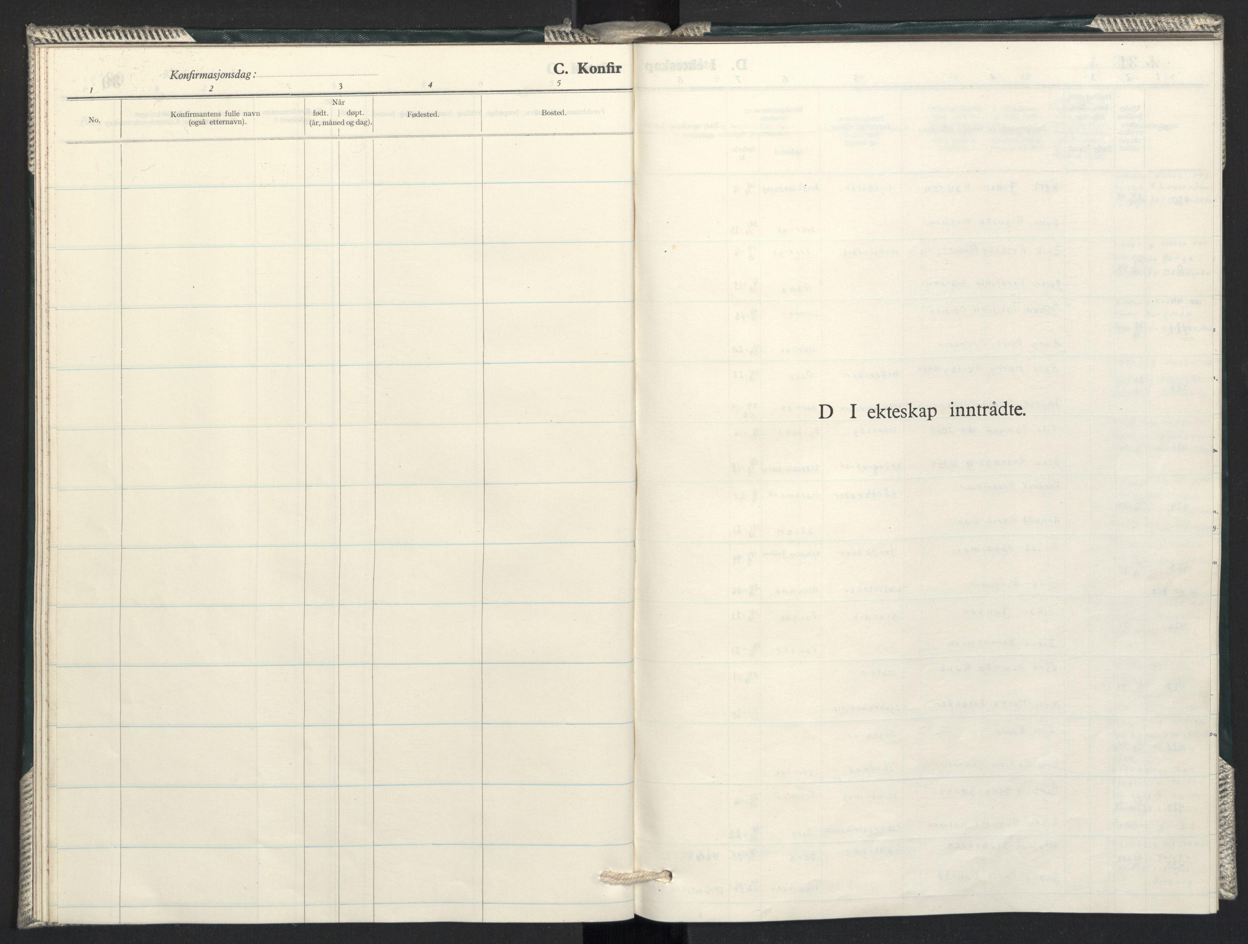 SAO, Prestekontoret i Sverige under okkupasjonen Kirkebøker, F/L0004: Ministerialbok nr. 4, 1944-1944