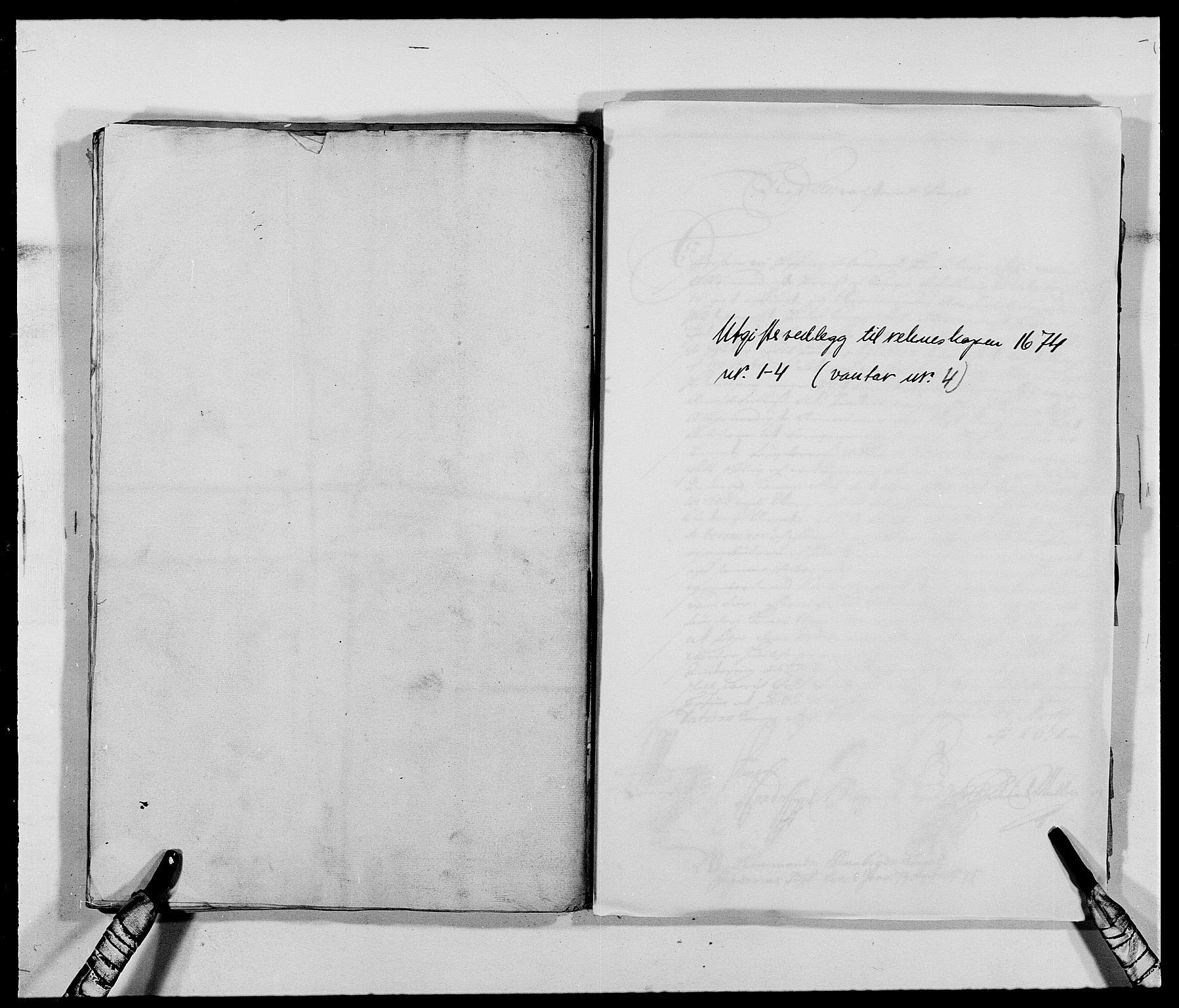 RA, Rentekammeret inntil 1814, Reviderte regnskaper, Fogderegnskap, R40/L2433: Fogderegnskap Råbyggelag, 1671-1674, s. 320