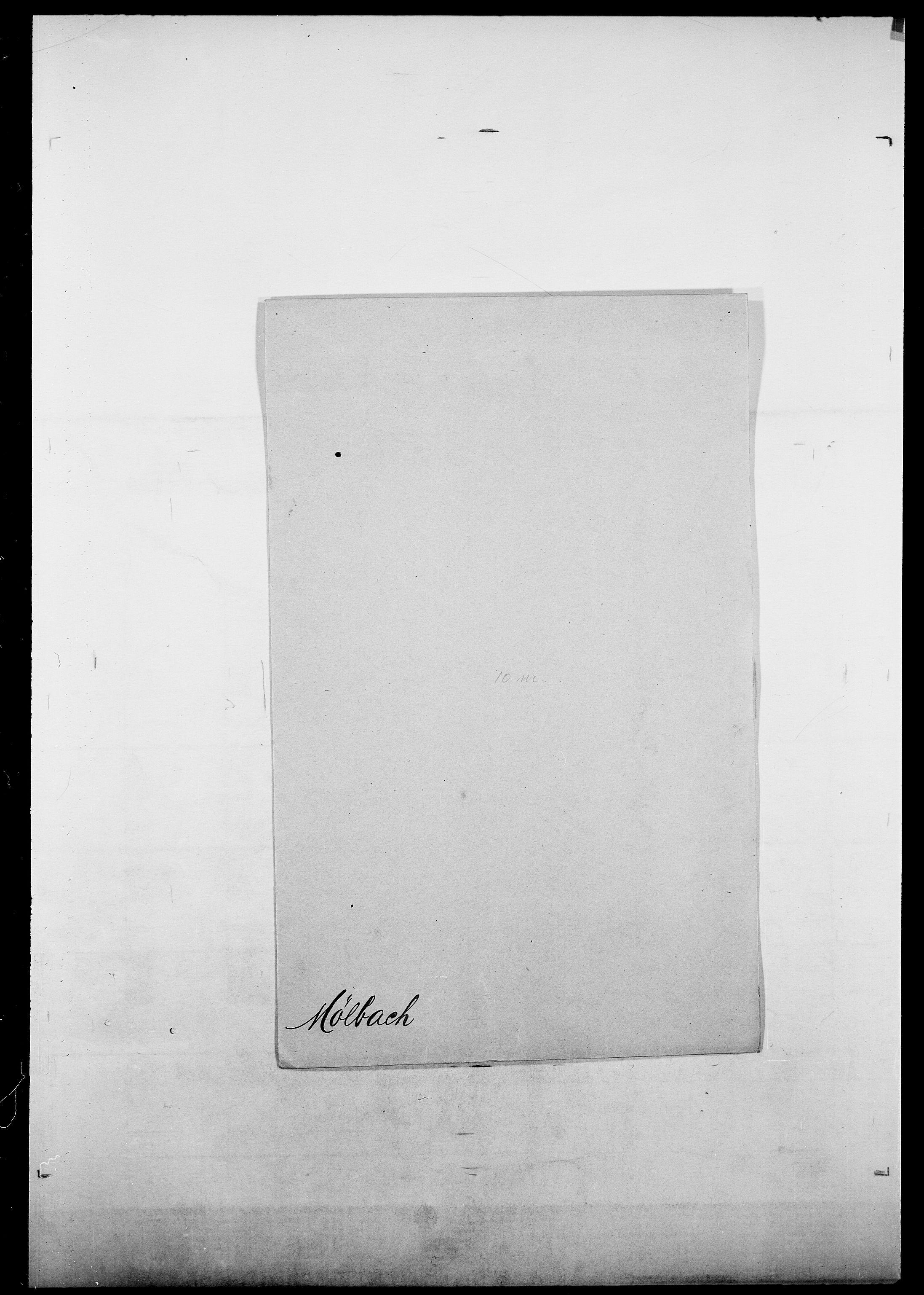 SAO, Delgobe, Charles Antoine - samling, D/Da/L0027: Morath - v. Møsting, s. 539