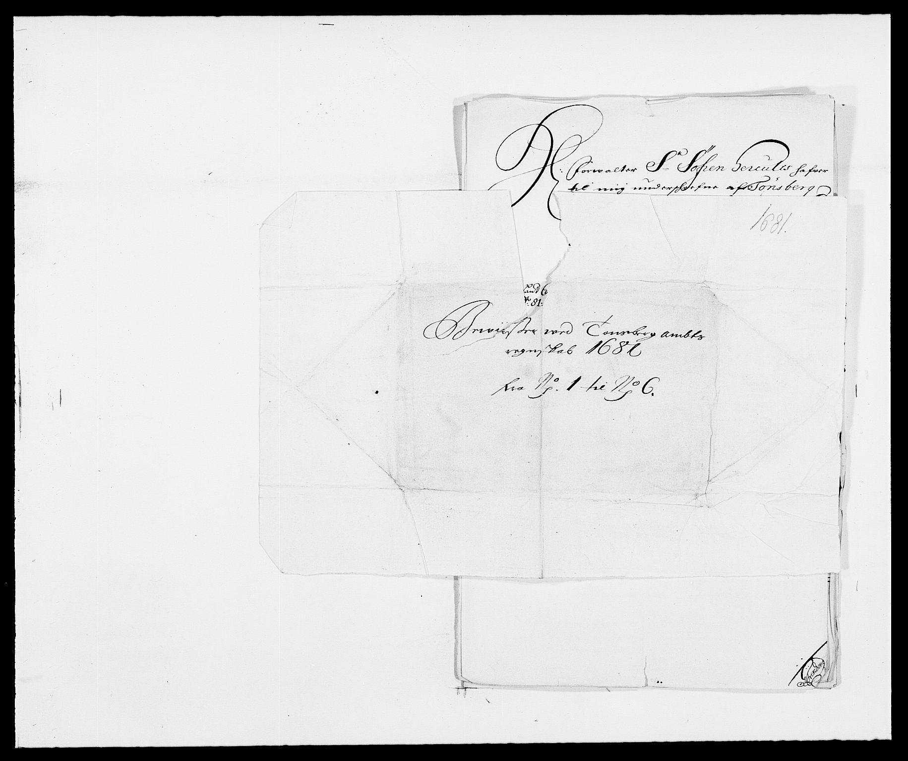 RA, Rentekammeret inntil 1814, Reviderte regnskaper, Fogderegnskap, R32/L1850: Fogderegnskap Jarlsberg grevskap, 1681, s. 304