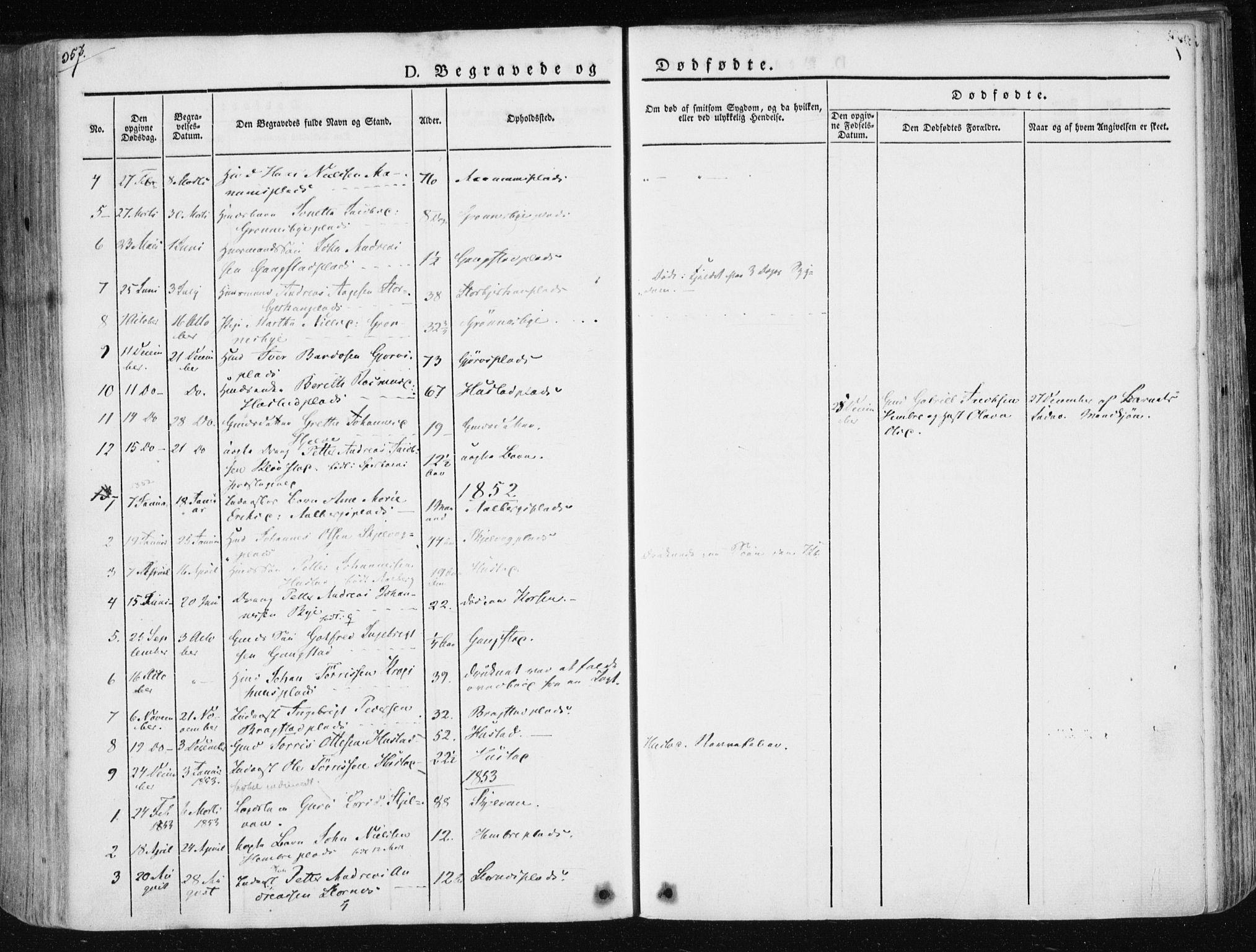 SAT, Ministerialprotokoller, klokkerbøker og fødselsregistre - Nord-Trøndelag, 730/L0280: Ministerialbok nr. 730A07 /3, 1840-1854, s. 357