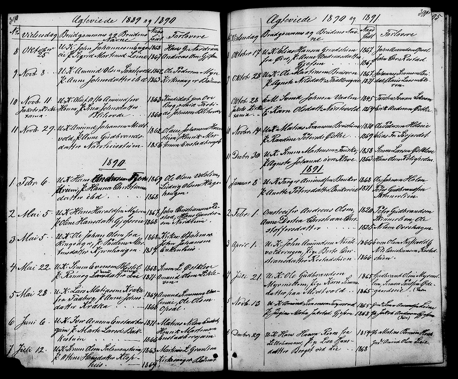 SAH, Østre Gausdal prestekontor, Klokkerbok nr. 1, 1863-1893, s. 390-391