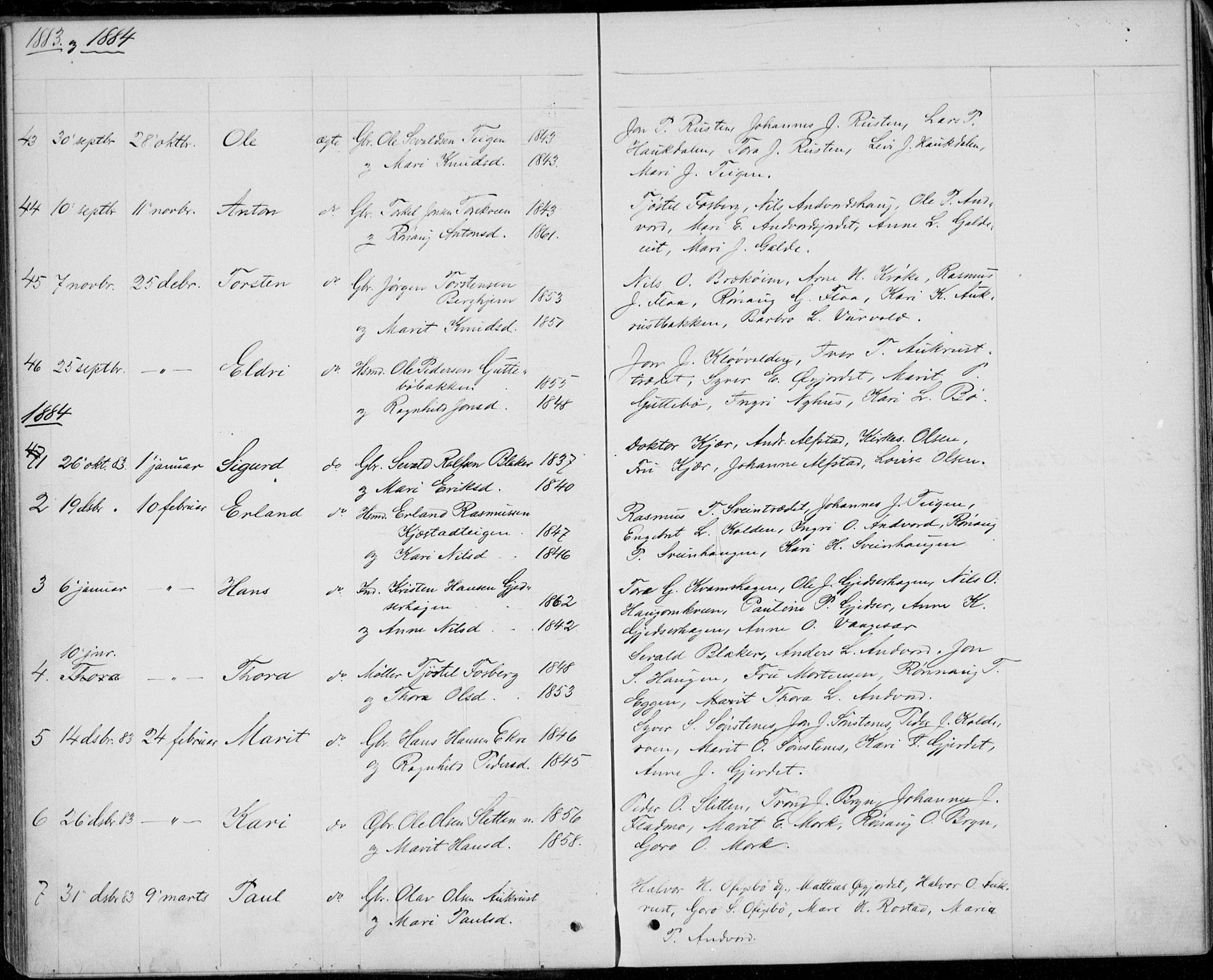 SAH, Lom prestekontor, L/L0013: Klokkerbok nr. 13, 1874-1938, s. 33