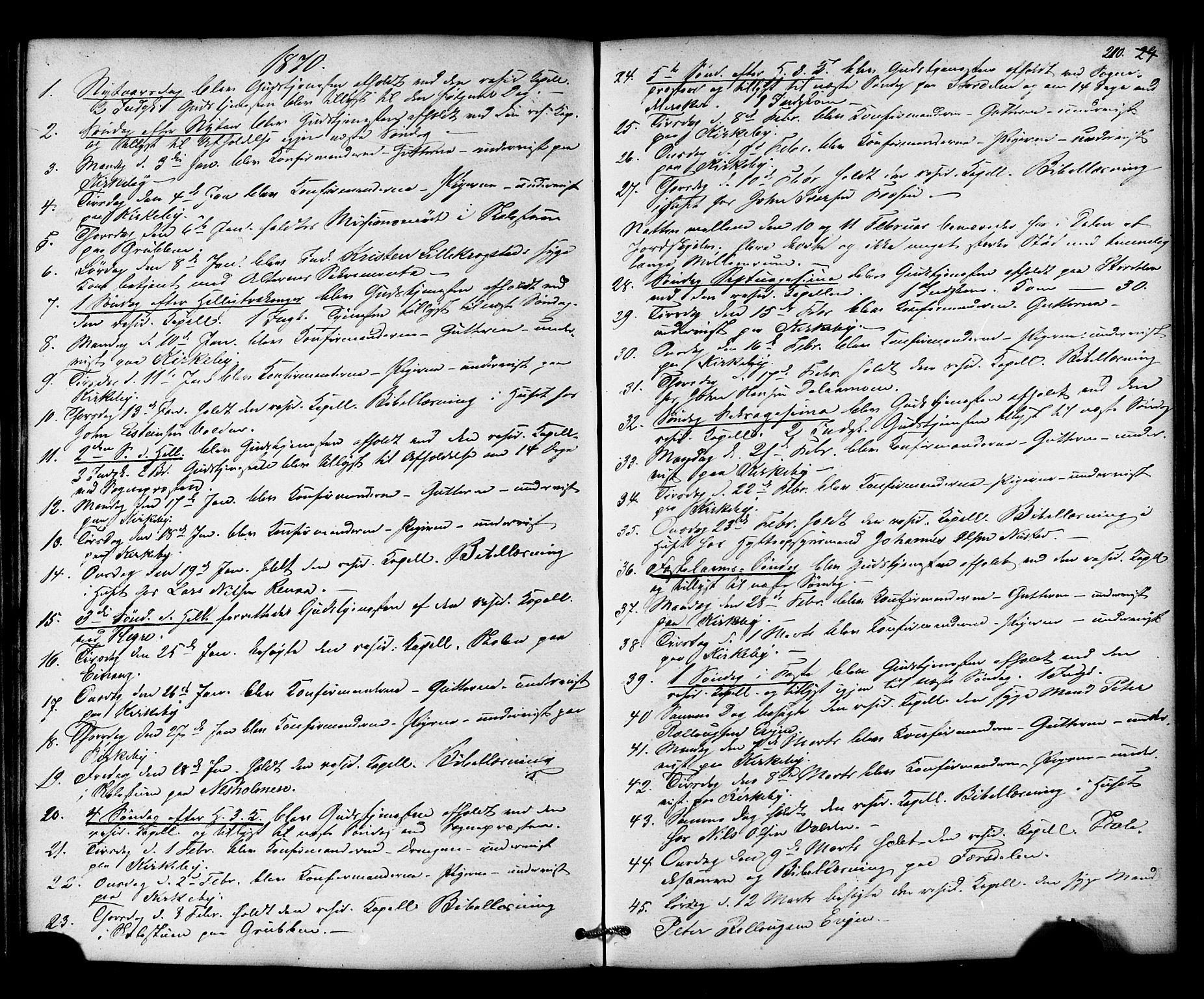SAT, Ministerialprotokoller, klokkerbøker og fødselsregistre - Nord-Trøndelag, 706/L0041: Ministerialbok nr. 706A02, 1862-1877, s. 210