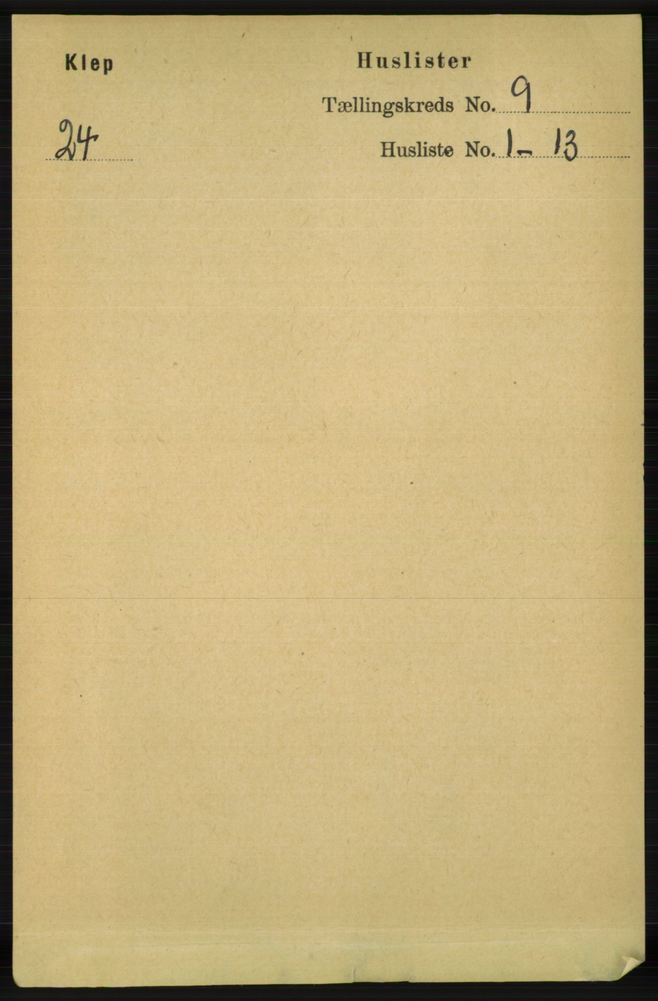 RA, Folketelling 1891 for 1120 Klepp herred, 1891, s. 2708