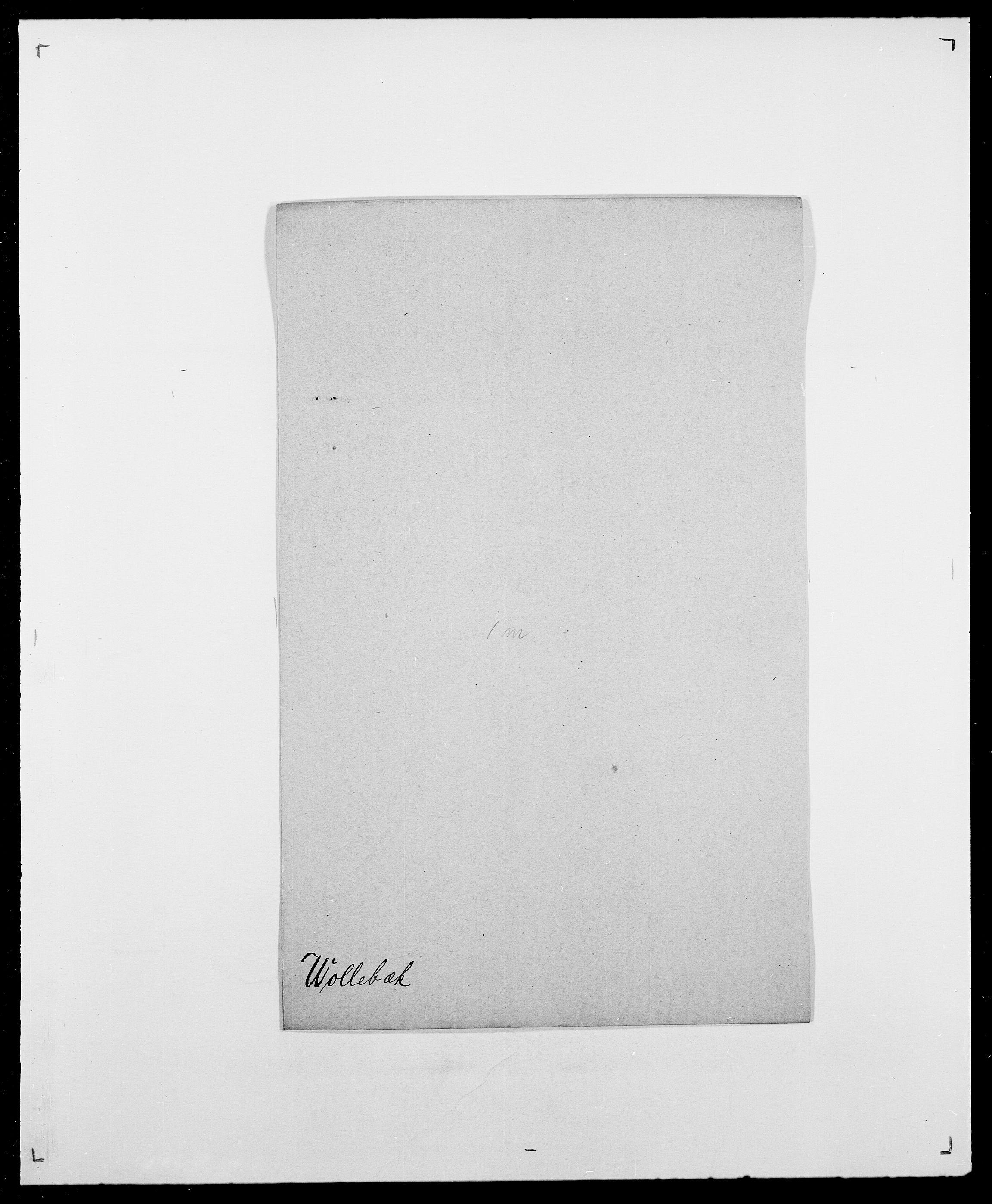 SAO, Delgobe, Charles Antoine - samling, D/Da/L0042: Vilain - Wulf, Wulff, se også Wolf, s. 659