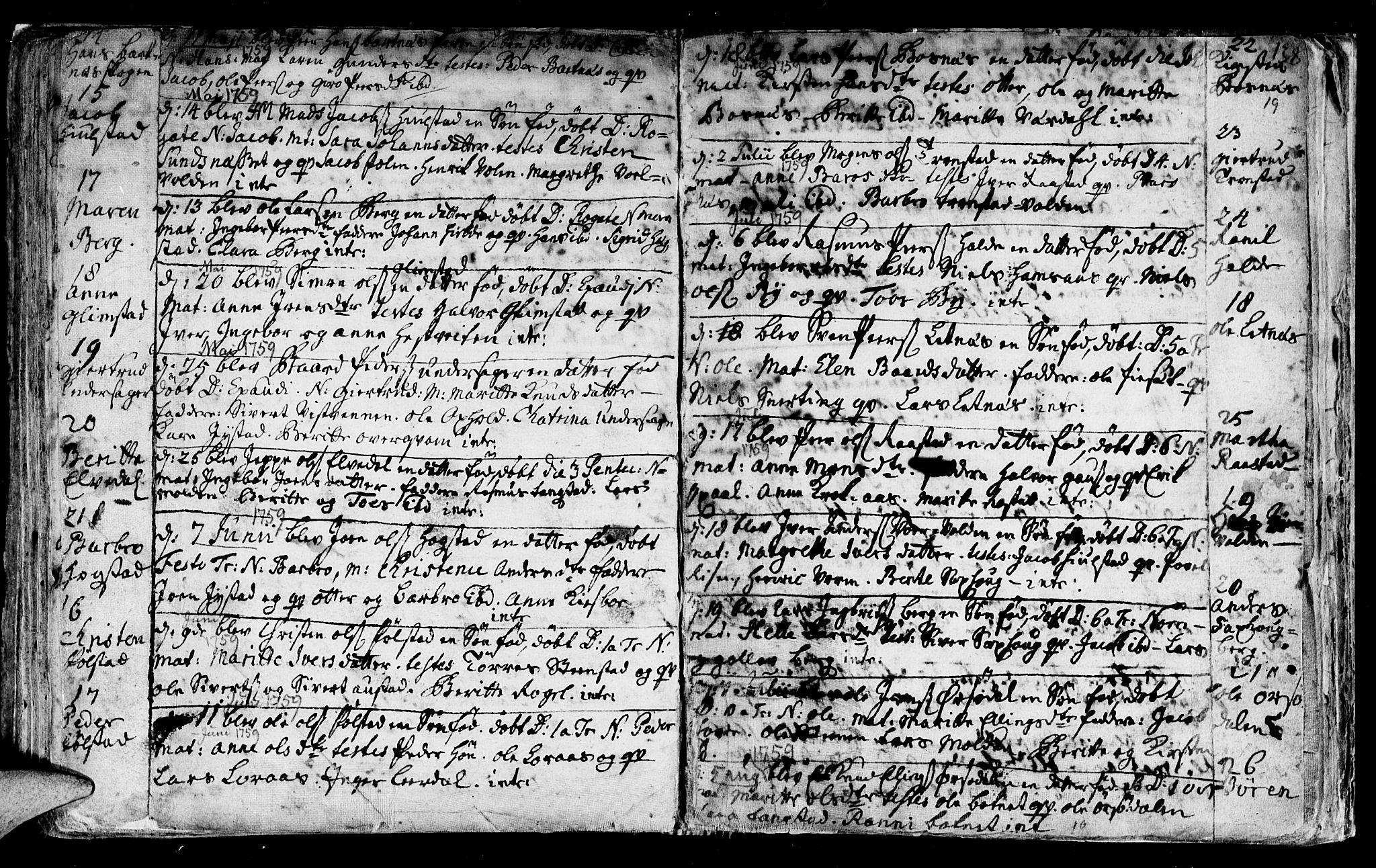 SAT, Ministerialprotokoller, klokkerbøker og fødselsregistre - Nord-Trøndelag, 730/L0272: Ministerialbok nr. 730A01, 1733-1764, s. 138