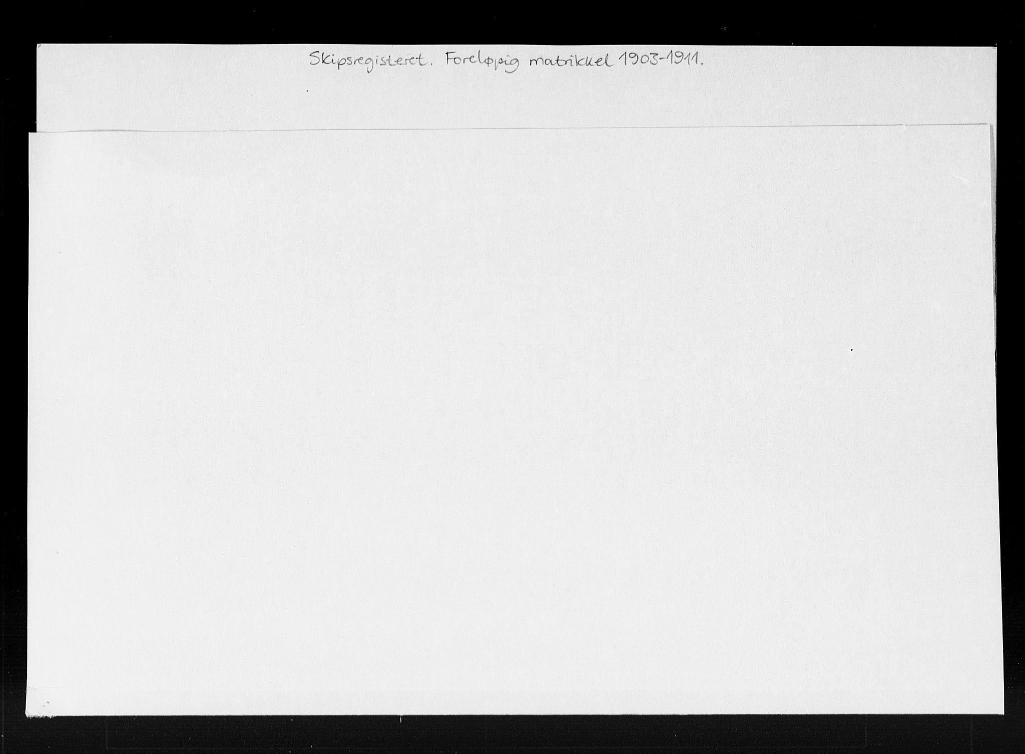 SAK, Lillesand tollsted, H/Ha/L0433: Skipsregister, skipsmatrikkel, 1861-1969, s. 2