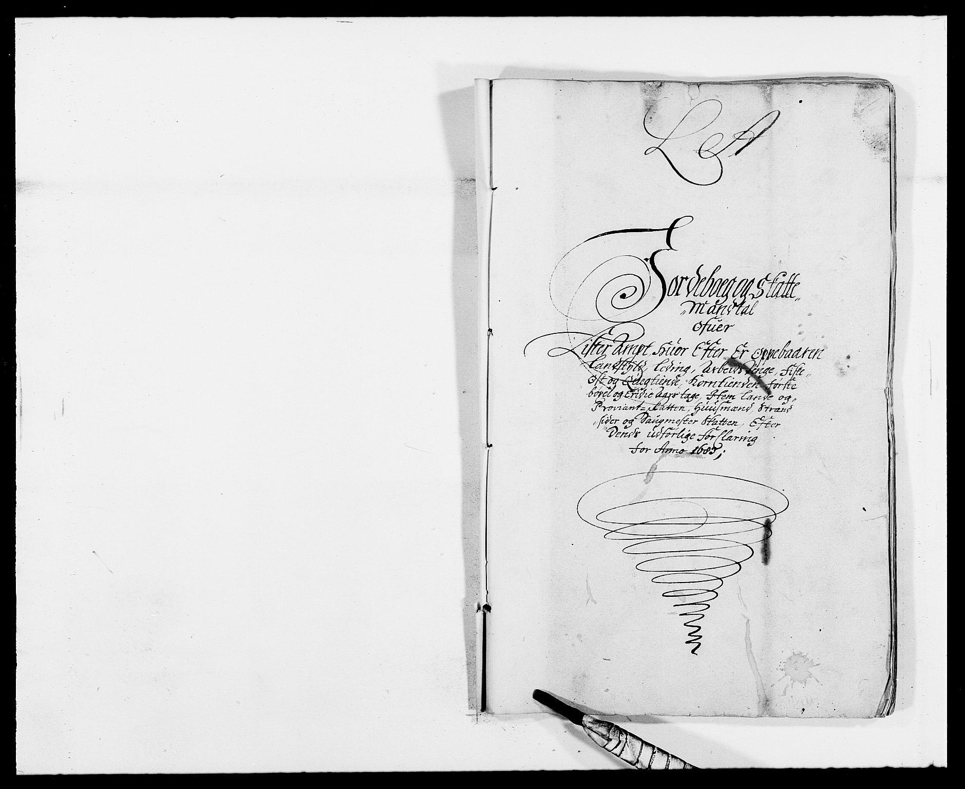 RA, Rentekammeret inntil 1814, Reviderte regnskaper, Fogderegnskap, R41/L2532: Fogderegnskap Lista, 1683, s. 7