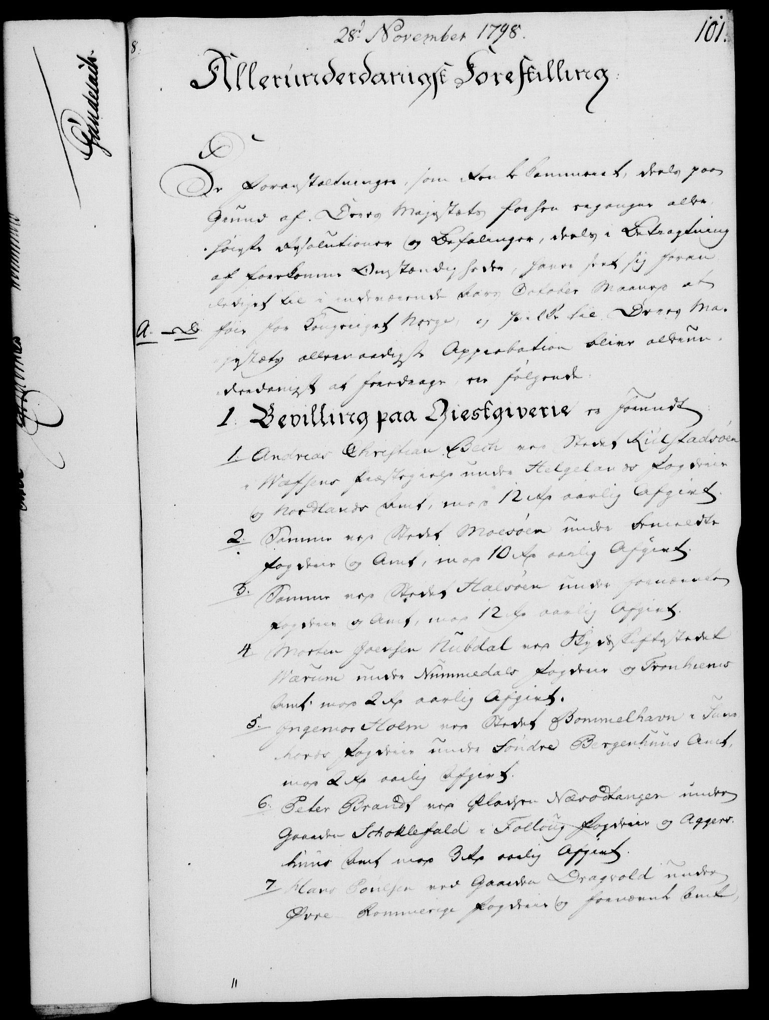 RA, Rentekammeret, Kammerkanselliet, G/Gf/Gfa/L0080: Norsk relasjons- og resolusjonsprotokoll (merket RK 52.80), 1798, s. 637