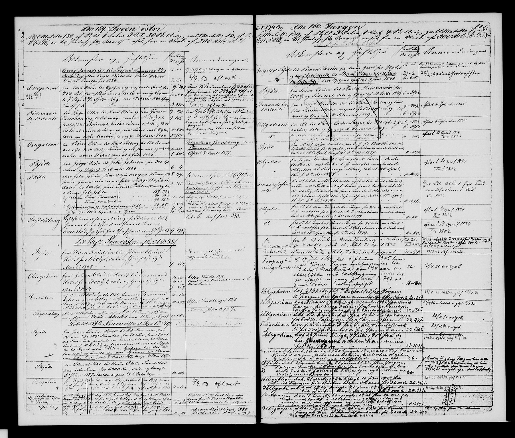 SAH, Sør-Hedmark sorenskriveri, H/Ha/Hac/Hacc/L0001: Panteregister nr. 3.1, 1855-1943, s. 185