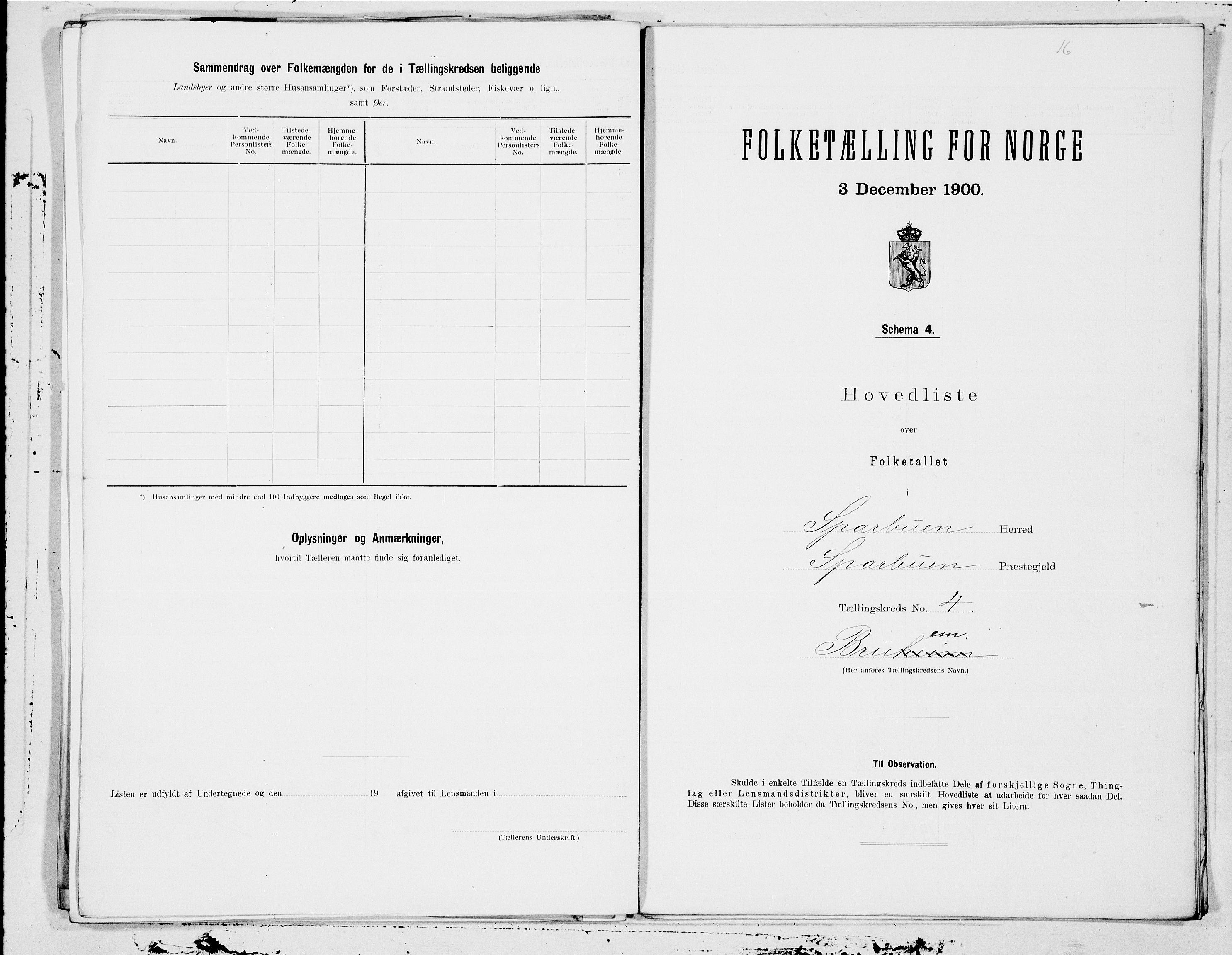SAT, Folketelling 1900 for 1731 Sparbu herred, 1900, s. 10