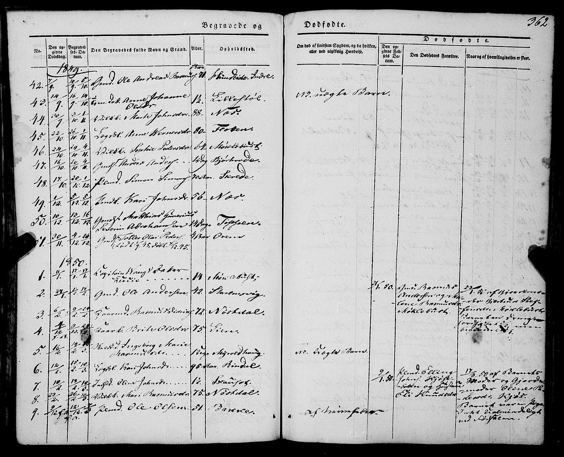 SAB, Eid Sokneprestembete, H/Haa: Ministerialbok nr. A 7, 1844-1858, s. 362