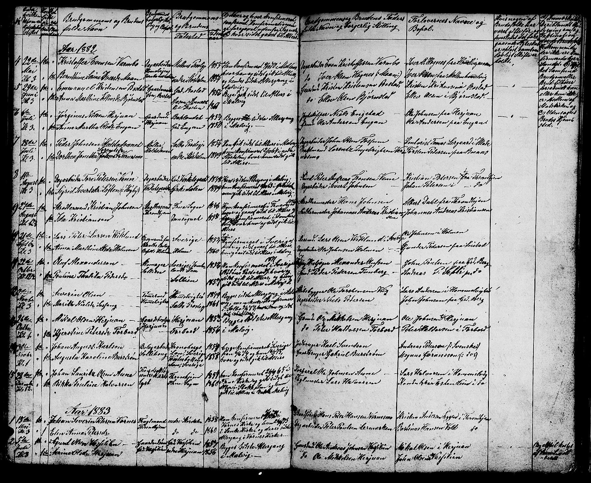 SAT, Ministerialprotokoller, klokkerbøker og fødselsregistre - Sør-Trøndelag, 616/L0422: Klokkerbok nr. 616C05, 1850-1888, s. 146