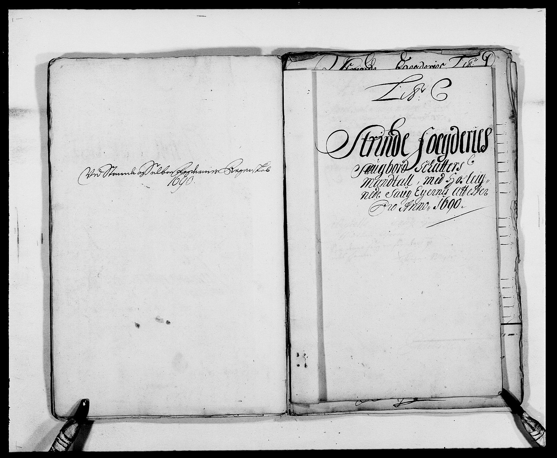 RA, Rentekammeret inntil 1814, Reviderte regnskaper, Fogderegnskap, R61/L4102: Fogderegnskap Strinda og Selbu, 1689-1690, s. 174