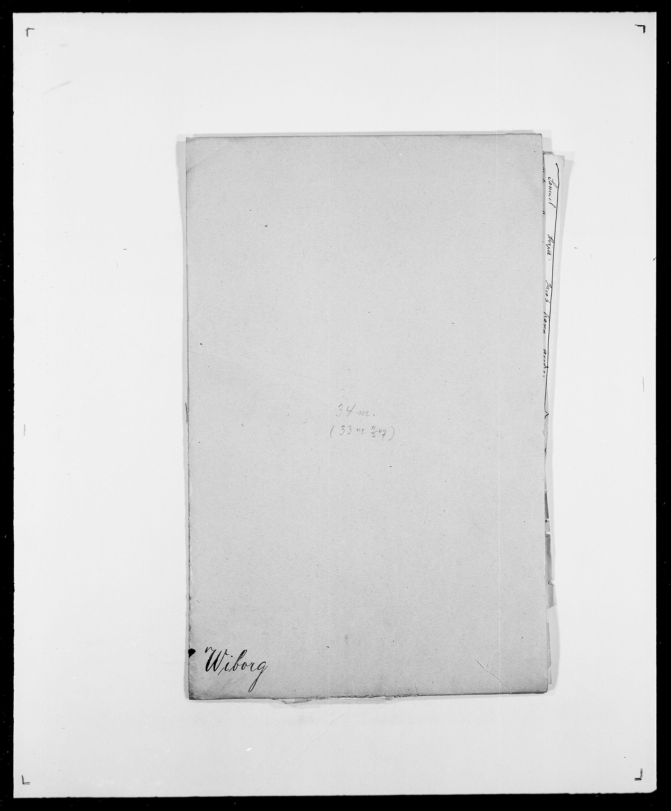 SAO, Delgobe, Charles Antoine - samling, D/Da/L0041: Vemmestad - Viker, s. 398