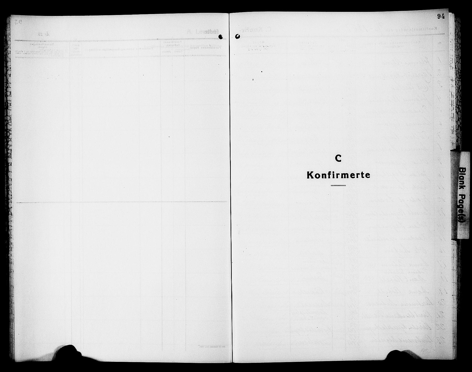 SAT, Ministerialprotokoller, klokkerbøker og fødselsregistre - Nord-Trøndelag, 749/L0485: Ministerialbok nr. 749D01, 1857-1872, s. 94