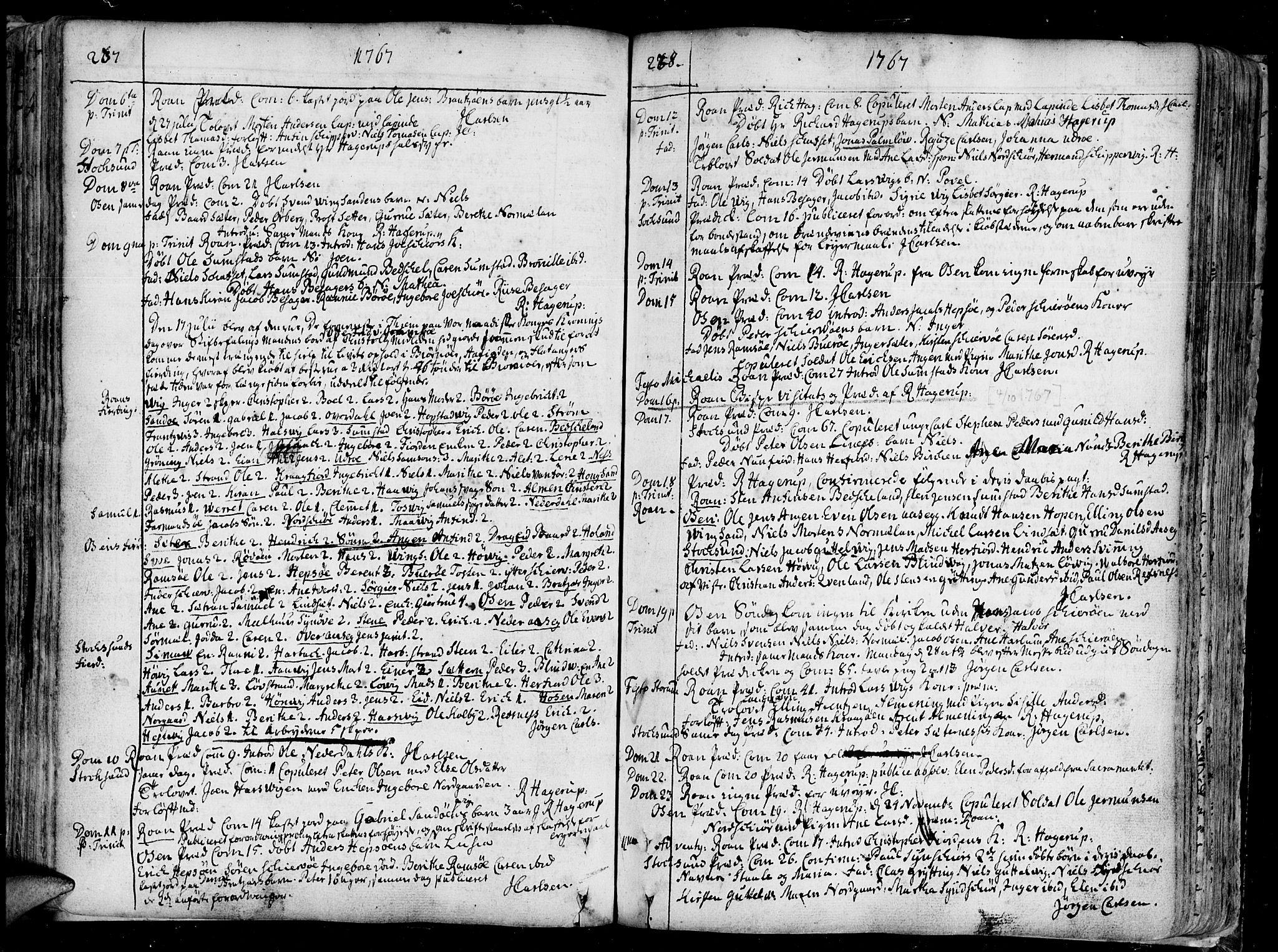 SAT, Ministerialprotokoller, klokkerbøker og fødselsregistre - Sør-Trøndelag, 657/L0700: Ministerialbok nr. 657A01, 1732-1801, s. 237-238