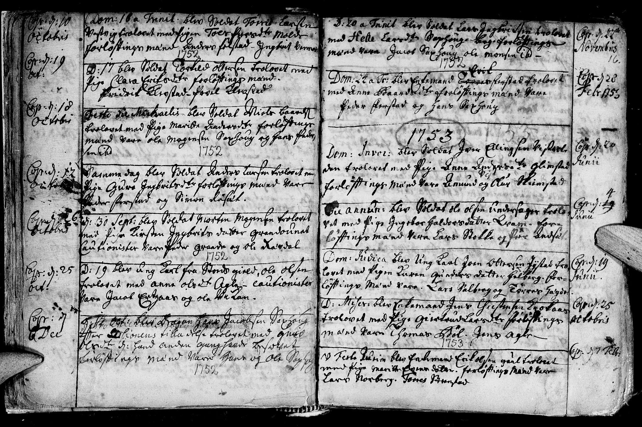 SAT, Ministerialprotokoller, klokkerbøker og fødselsregistre - Nord-Trøndelag, 730/L0272: Ministerialbok nr. 730A01, 1733-1764, s. 16