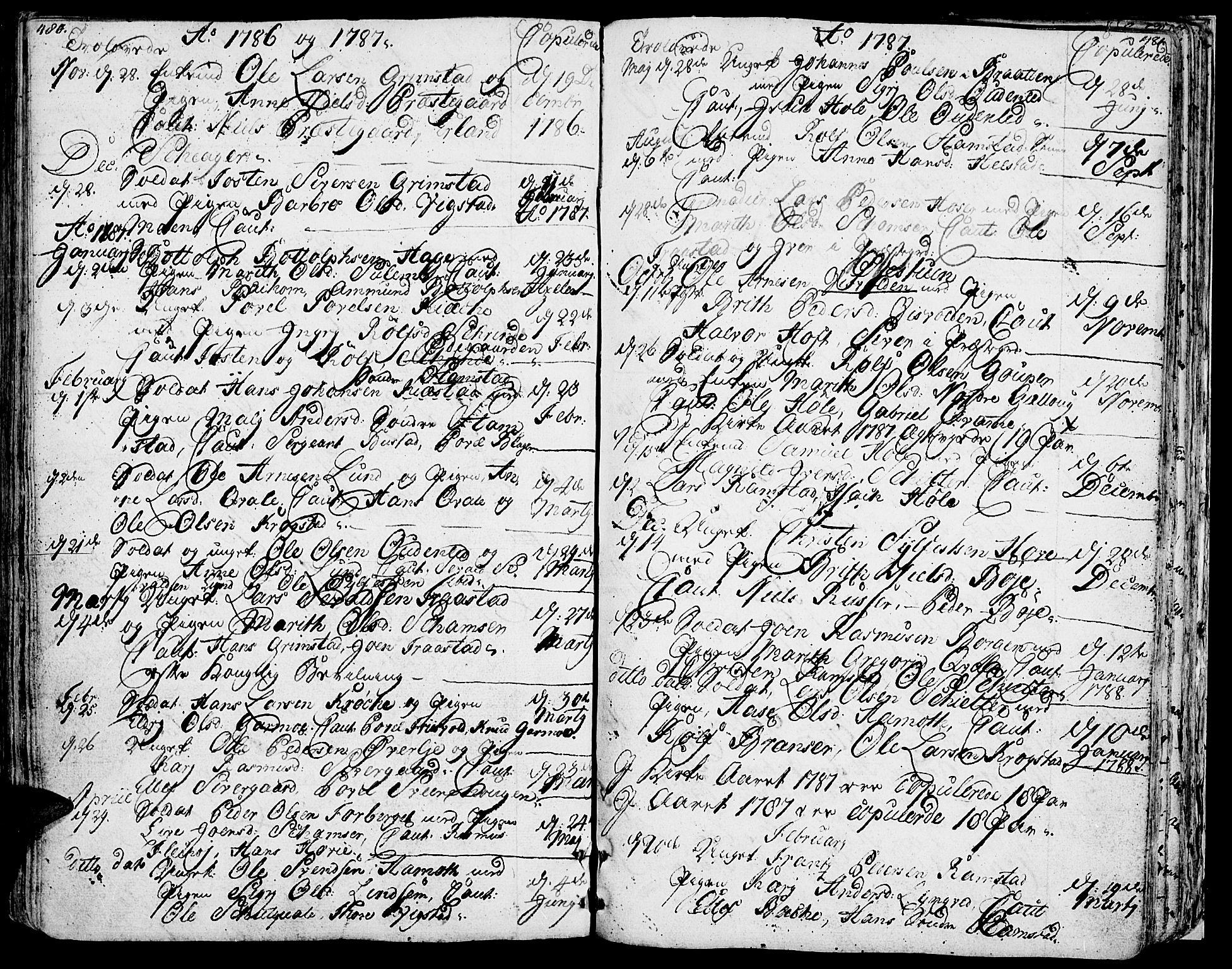 SAH, Lom prestekontor, K/L0002: Ministerialbok nr. 2, 1749-1801, s. 480-481
