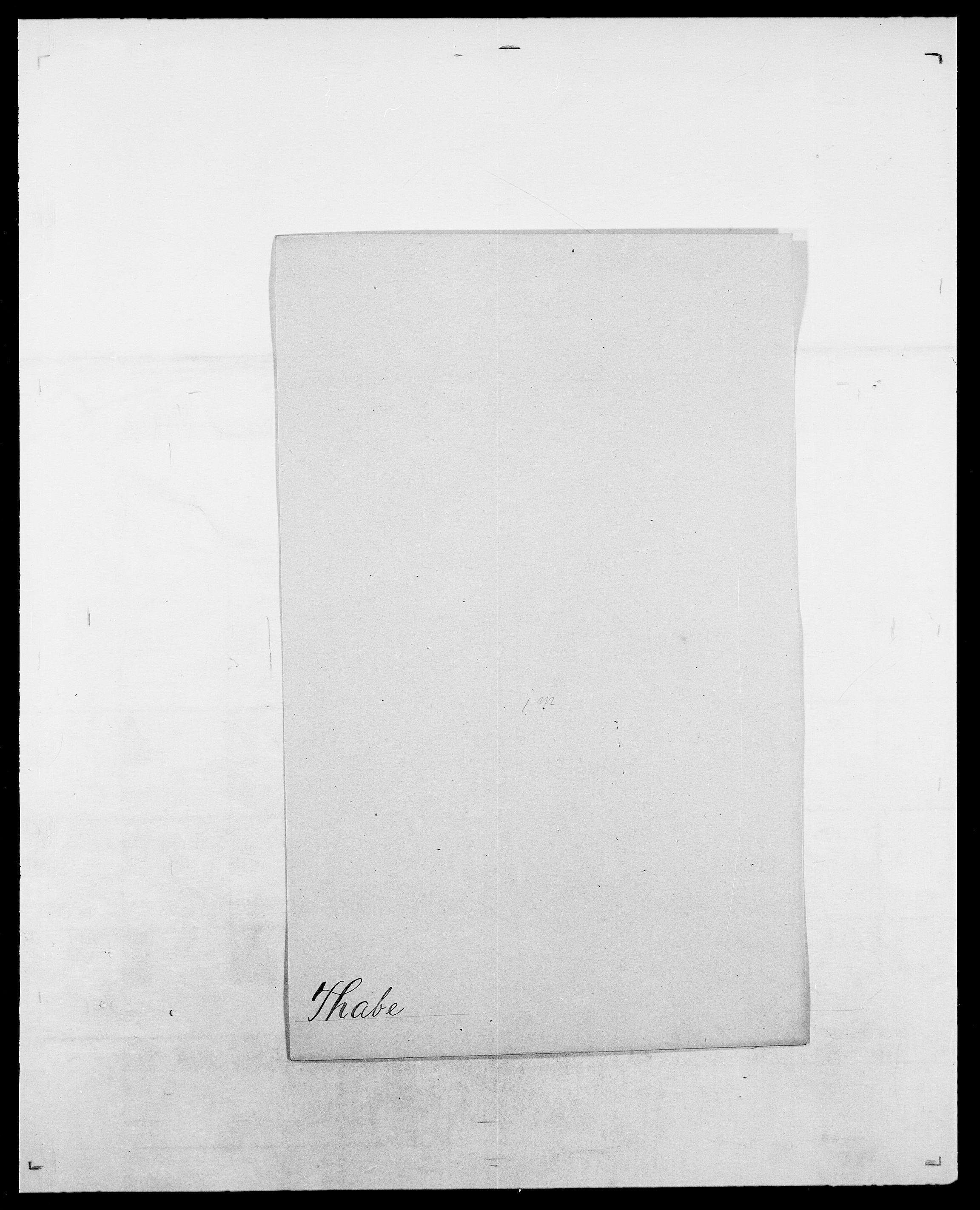 SAO, Delgobe, Charles Antoine - samling, D/Da/L0038: Svanenskjold - Thornsohn, s. 431