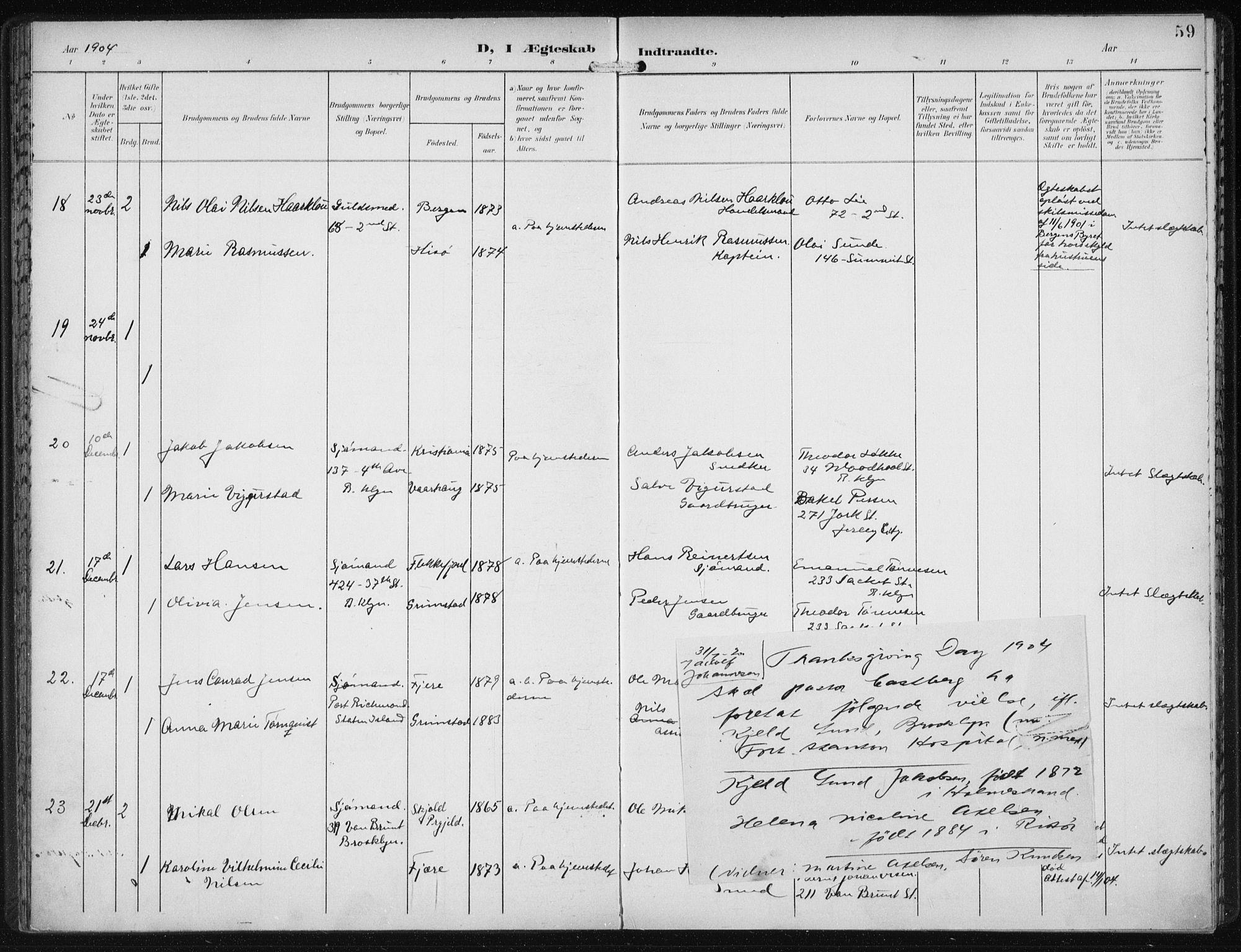 SAB, Den Norske Sjømannsmisjon i utlandet*, Ministerialbok nr. A 5, 1902-1908, s. 59