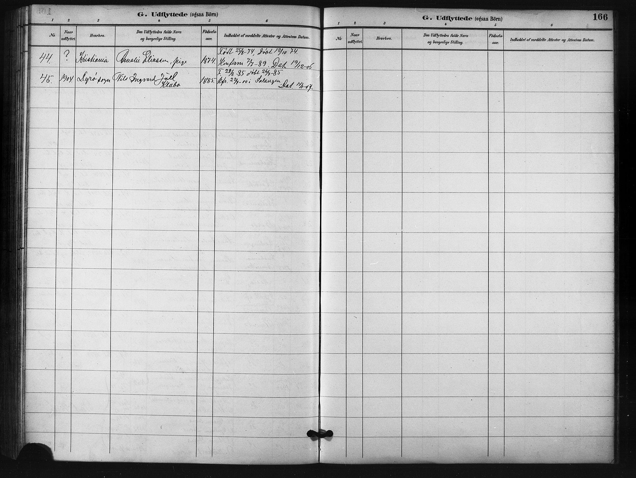 SATØ, Salangen sokneprestembete, H/Ha/L0001klokker: Klokkerbok nr. 1, 1893-1910, s. 166
